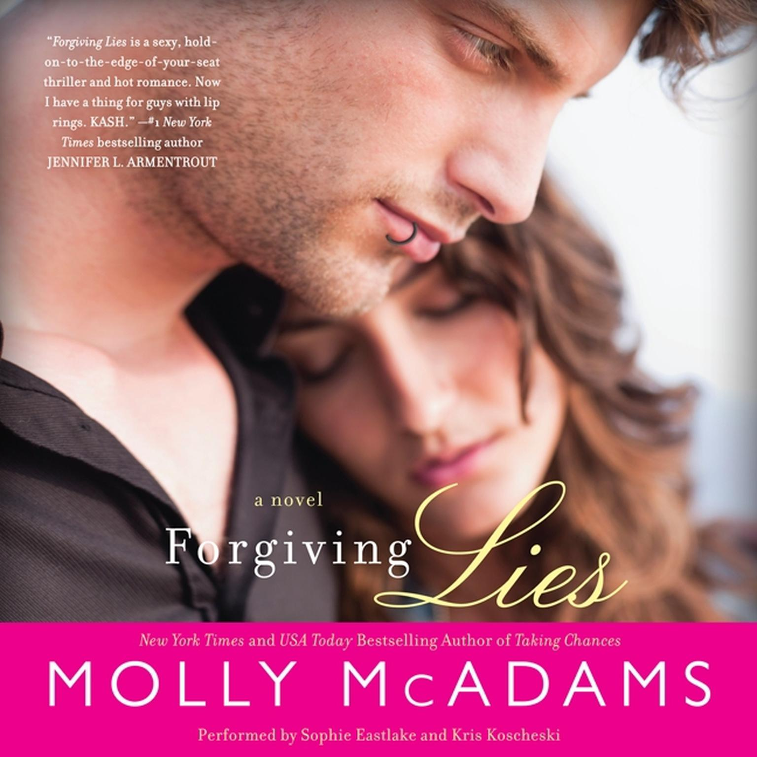 Printable Forgiving Lies: A Novel Audiobook Cover Art