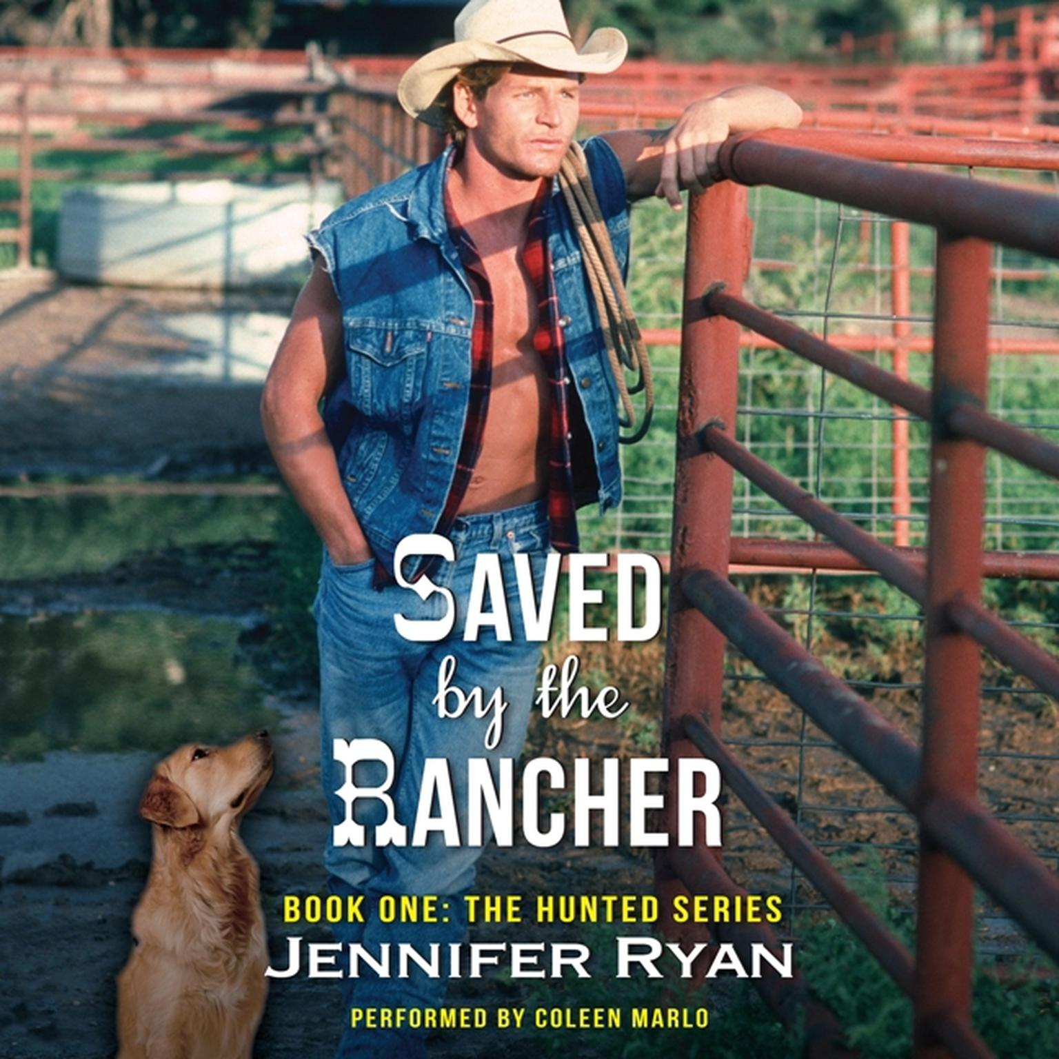 Printable Saved by the Rancher: Book One: The Hunted Series Audiobook Cover Art