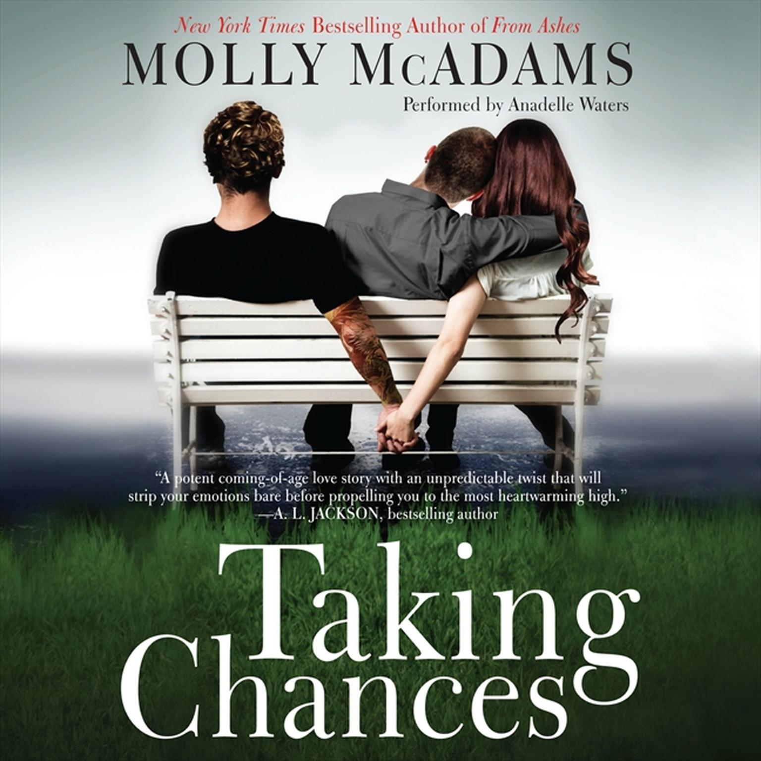 Printable Taking Chances Audiobook Cover Art