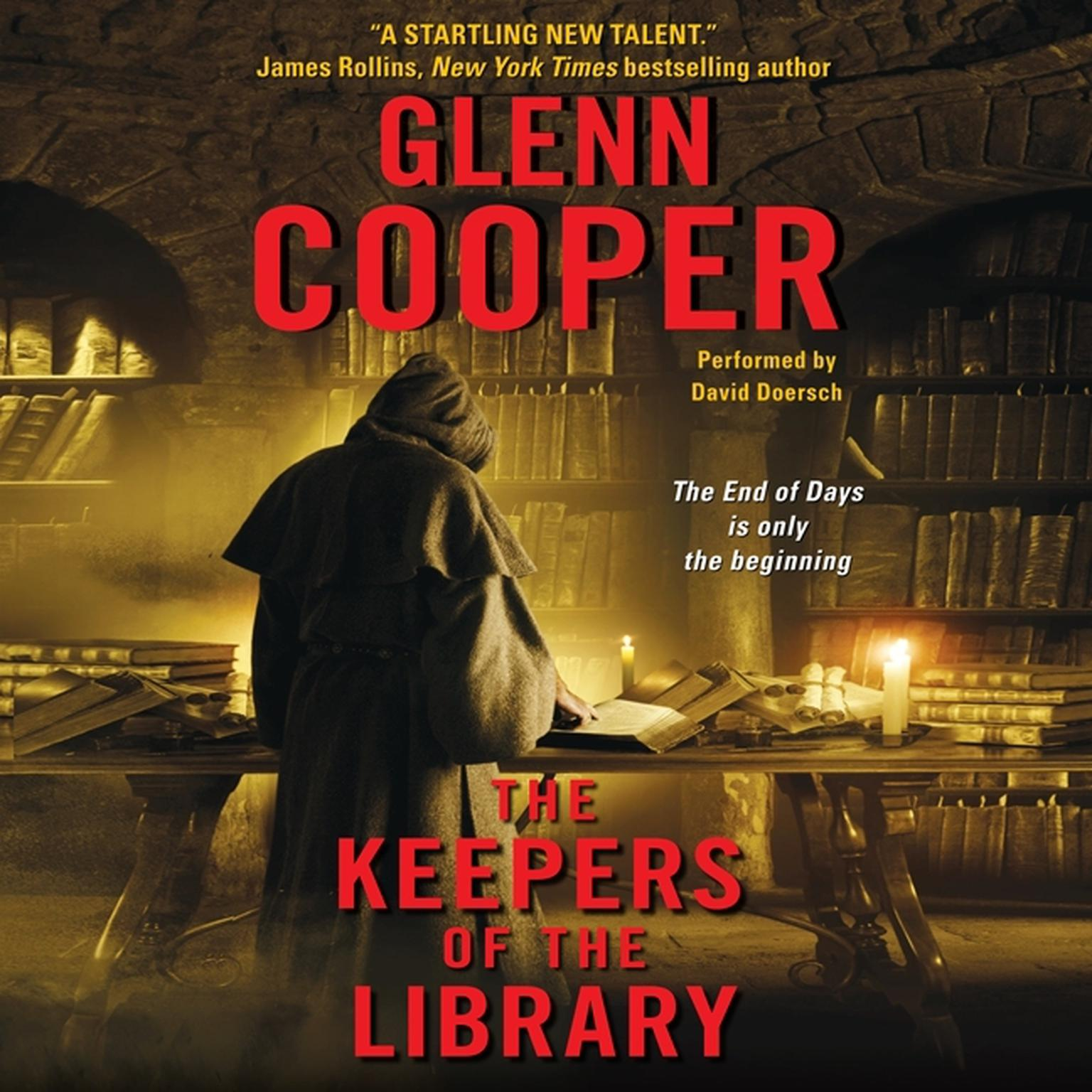 Printable The Keepers of the Library Audiobook Cover Art