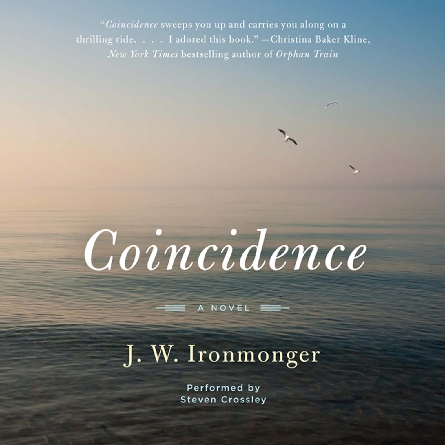 Printable Coincidence: A Novel Audiobook Cover Art
