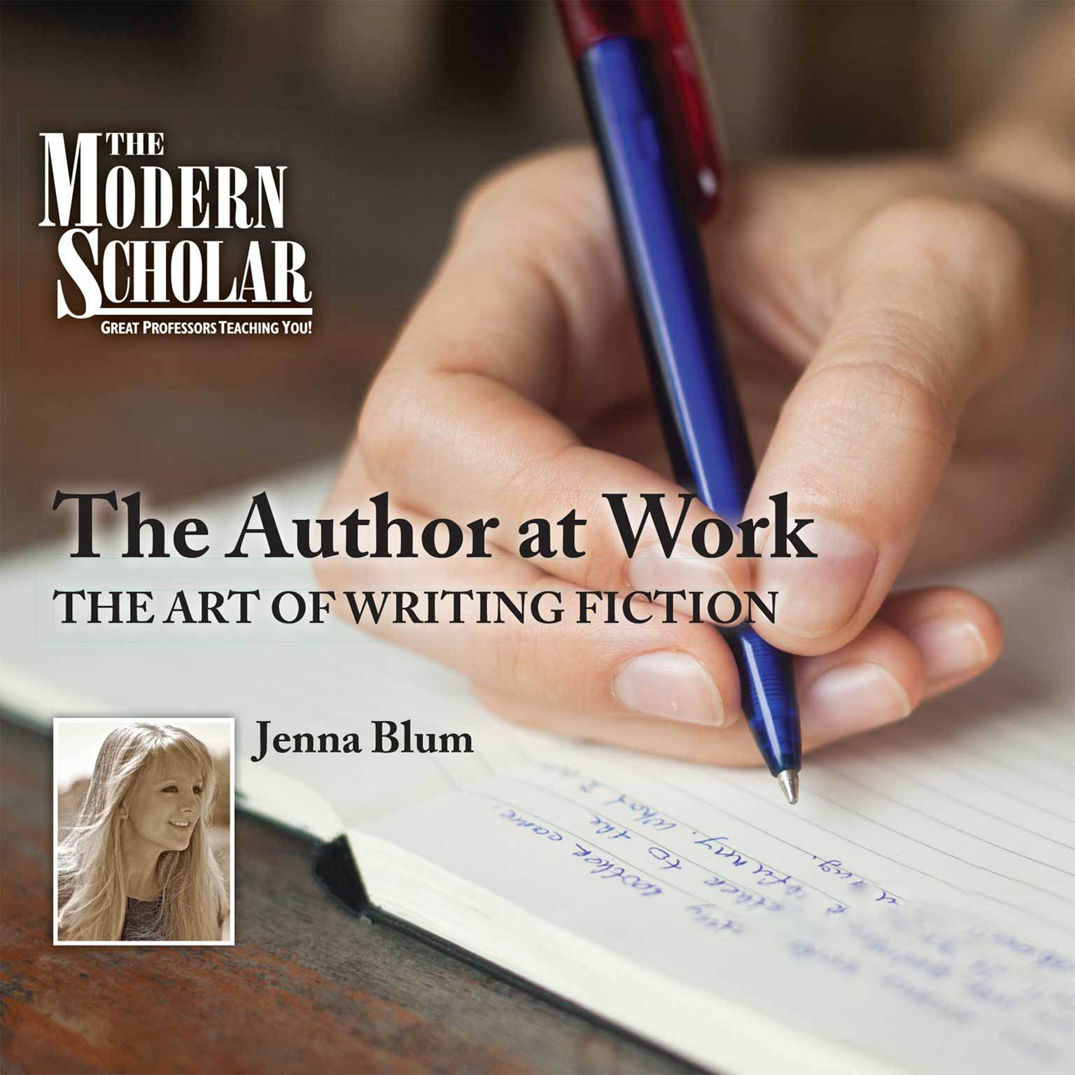 Printable The Author at Work: The Art of Writing Fiction Audiobook Cover Art
