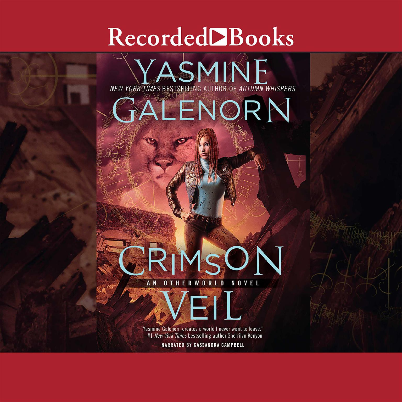Printable Crimson Veil Audiobook Cover Art