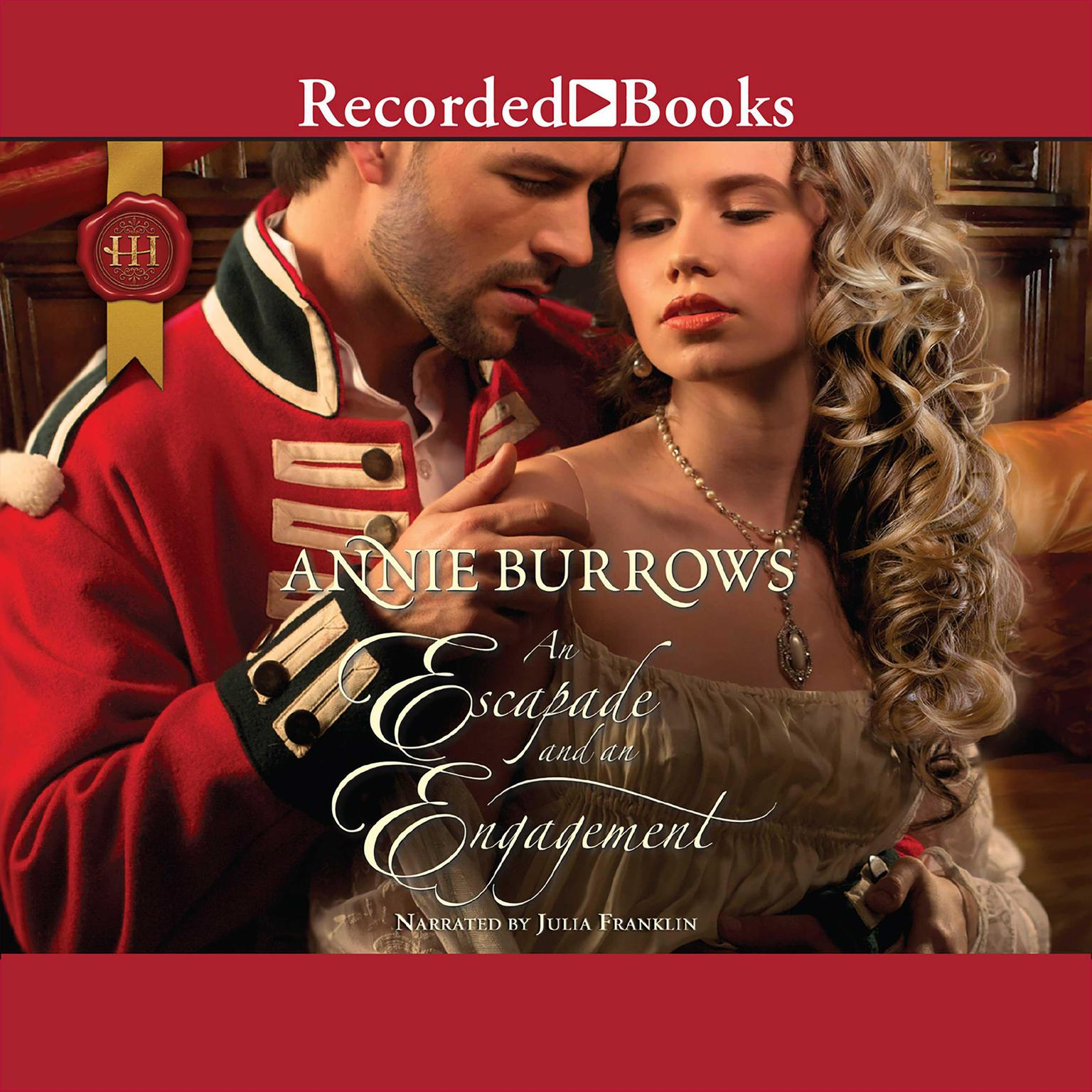 Printable An Escapade and an Engagement Audiobook Cover Art