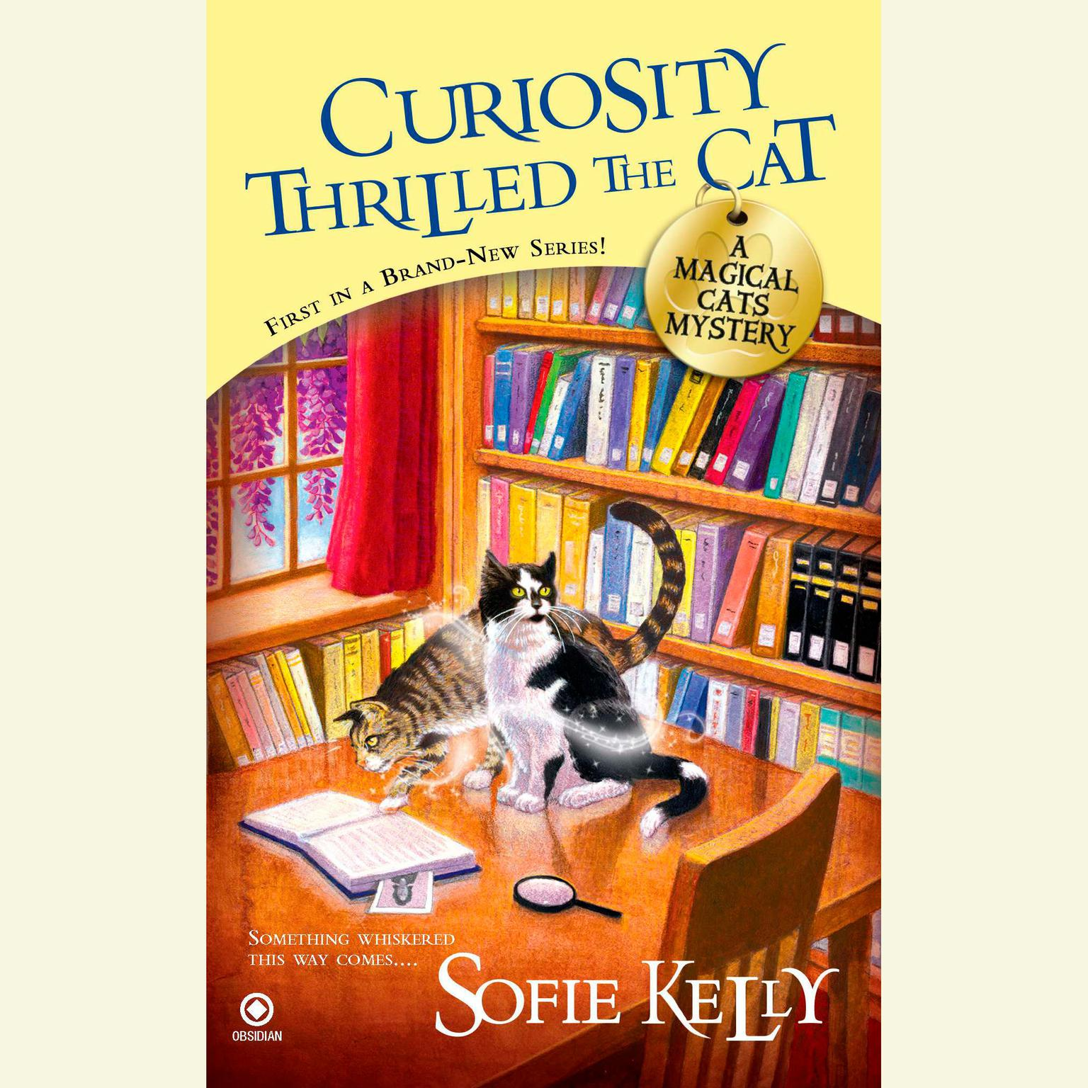 Printable Curiosity Thrilled the Cat: A Magical Cats Mystery Audiobook Cover Art