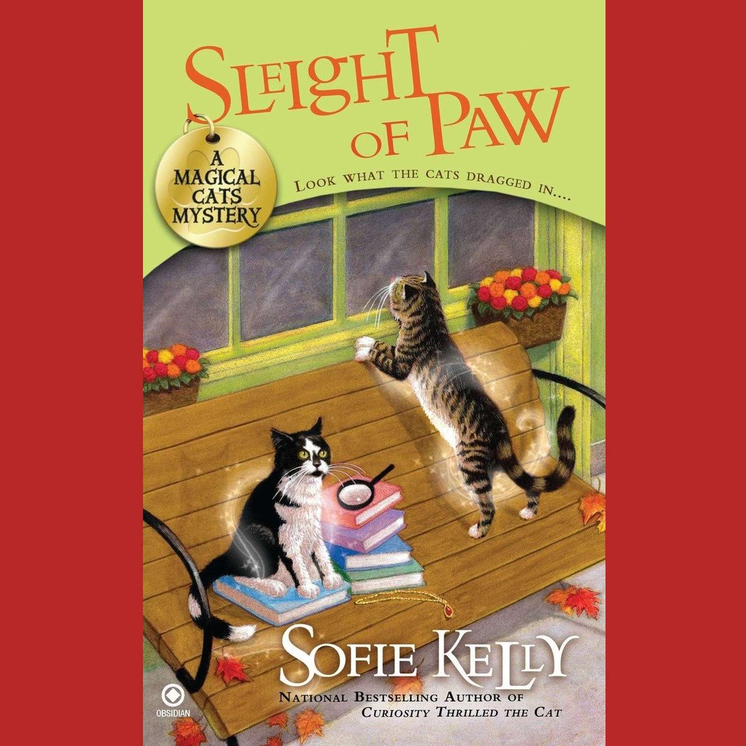 Printable Sleight of Paw: A Magical Cats Mystery Audiobook Cover Art