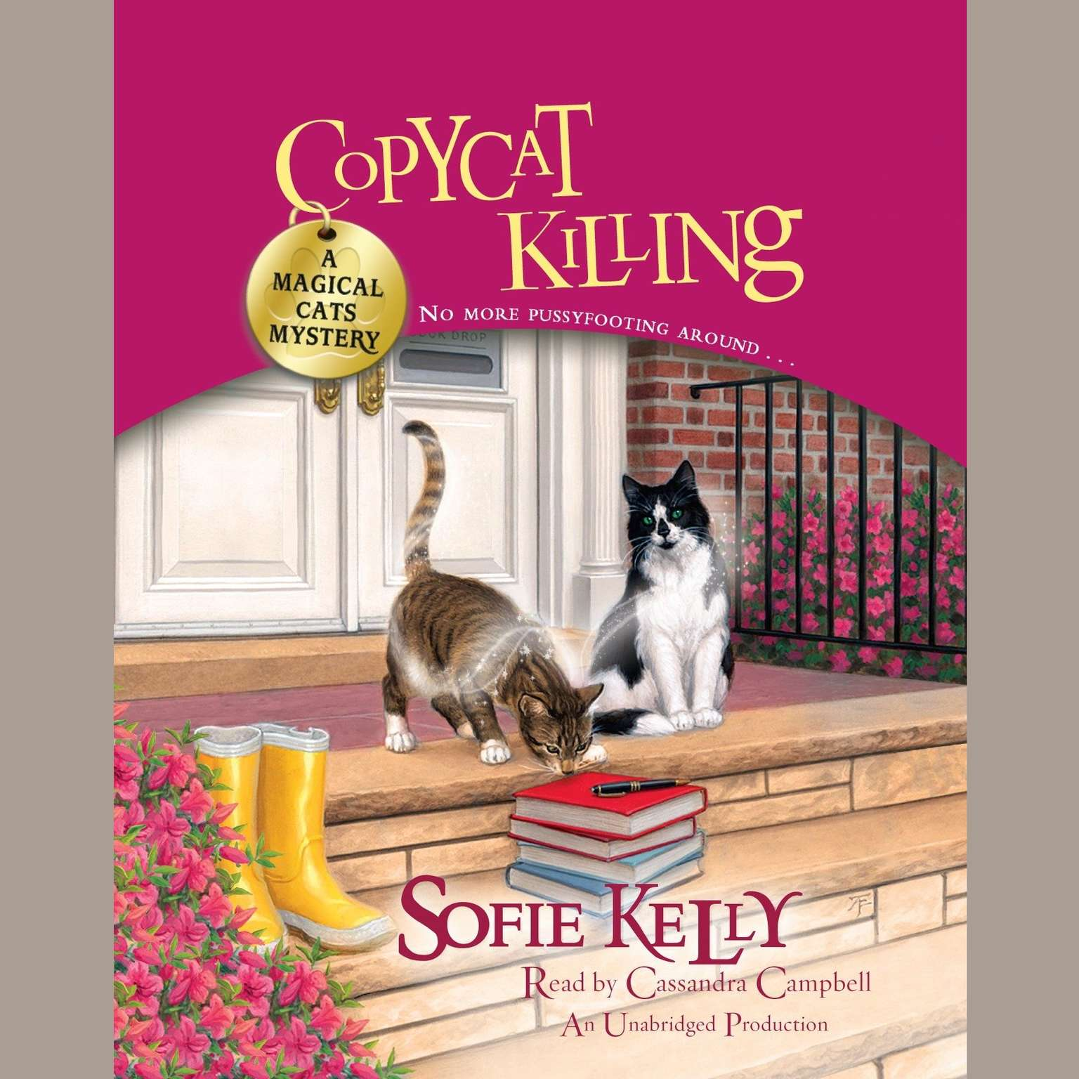 Printable Copycat Killing: A Magical Cats Mystery Audiobook Cover Art