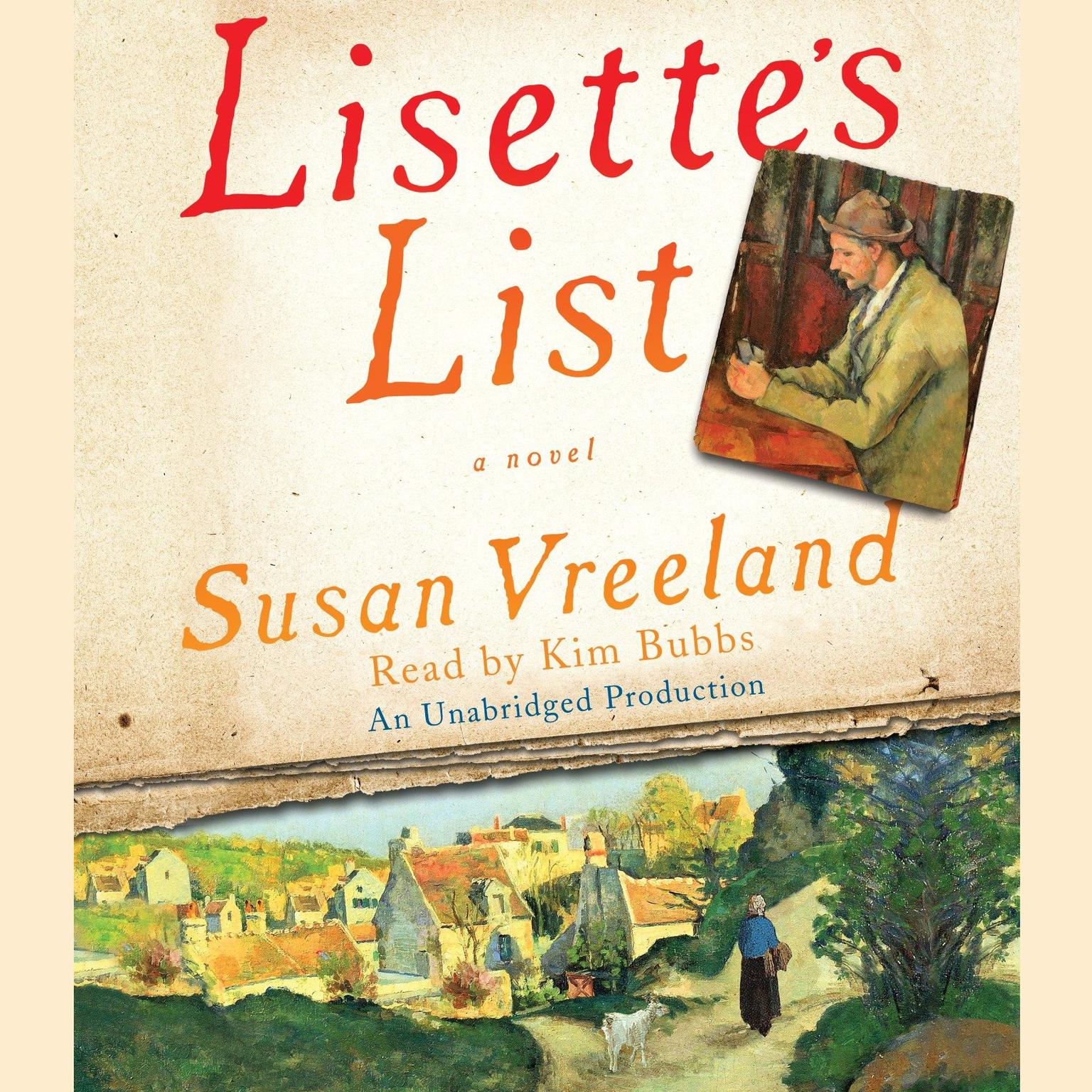 Printable Lisette's List: A Novel Audiobook Cover Art