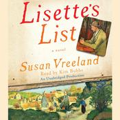 Lisette's List: A Novel, by Susan Vreelan