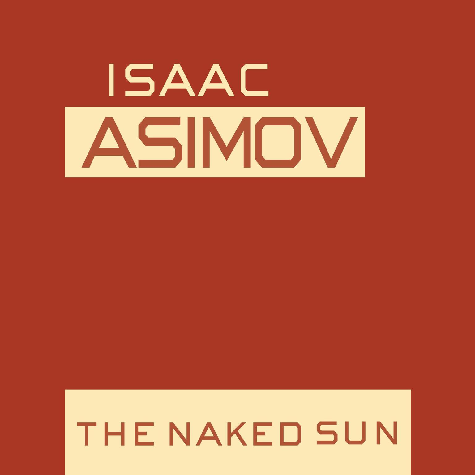 Printable The Naked Sun Audiobook Cover Art