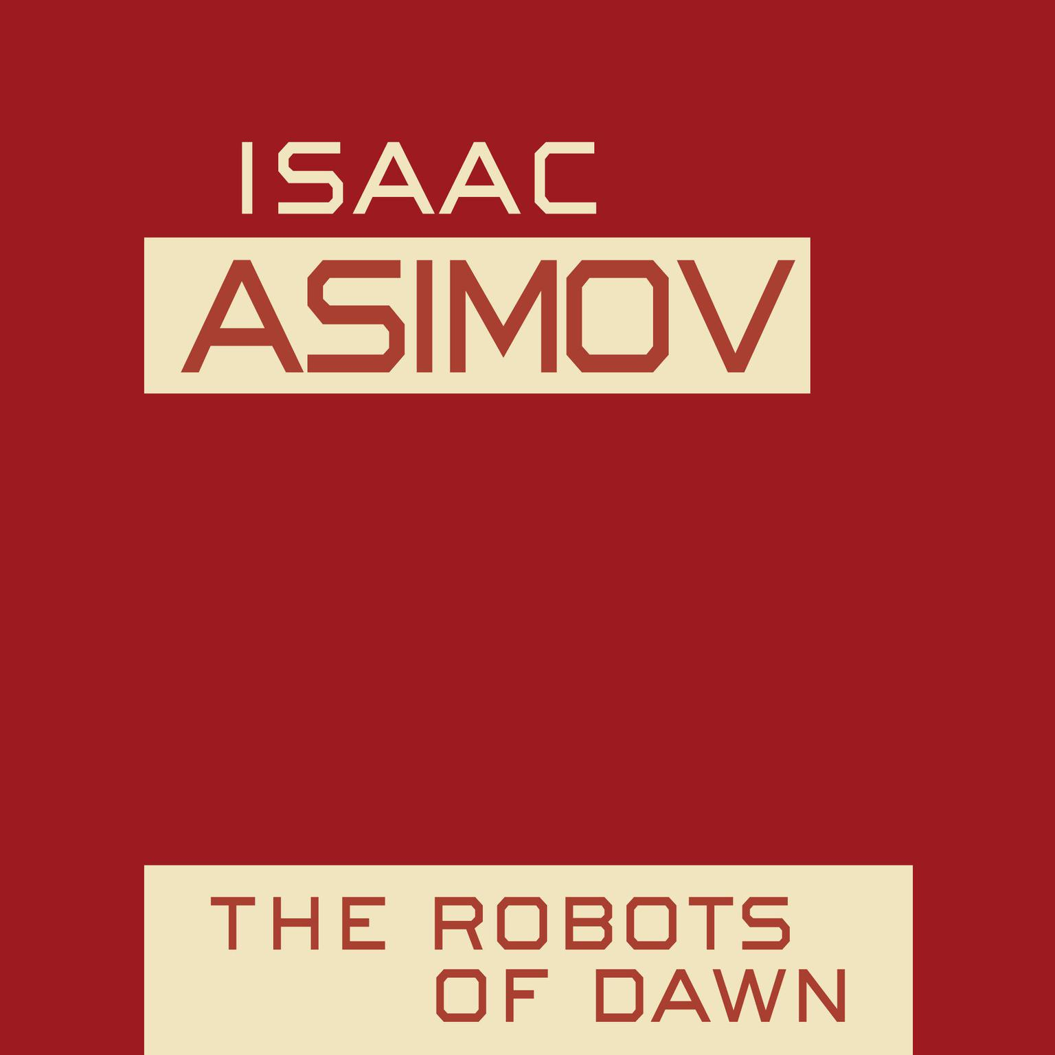 Printable The Robots of Dawn Audiobook Cover Art