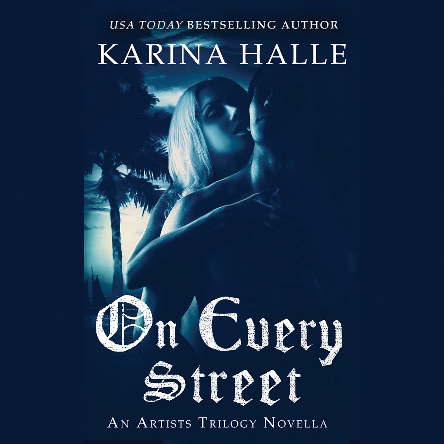 Printable On Every Street Audiobook Cover Art