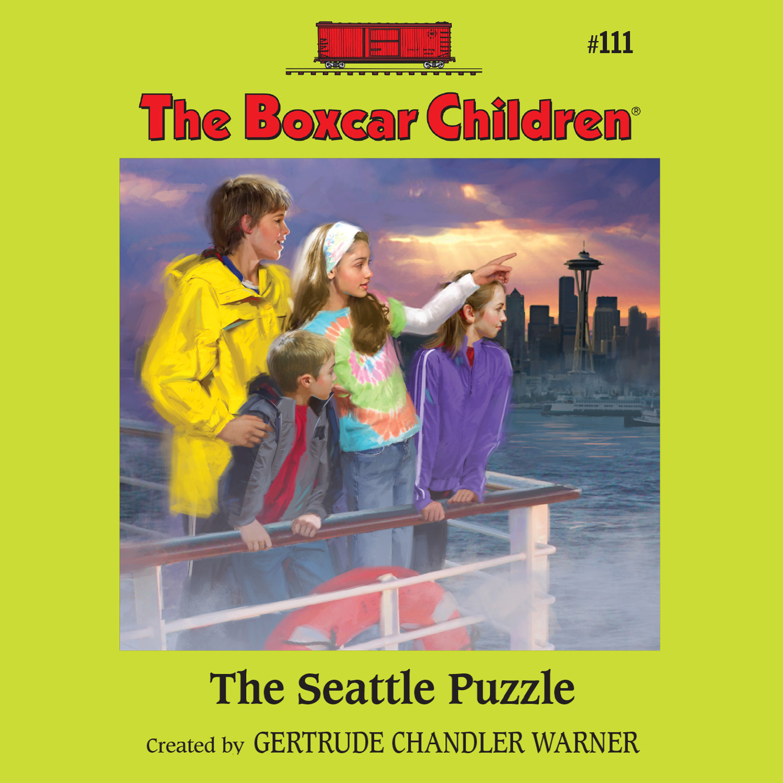 Printable The Seattle Puzzle Audiobook Cover Art