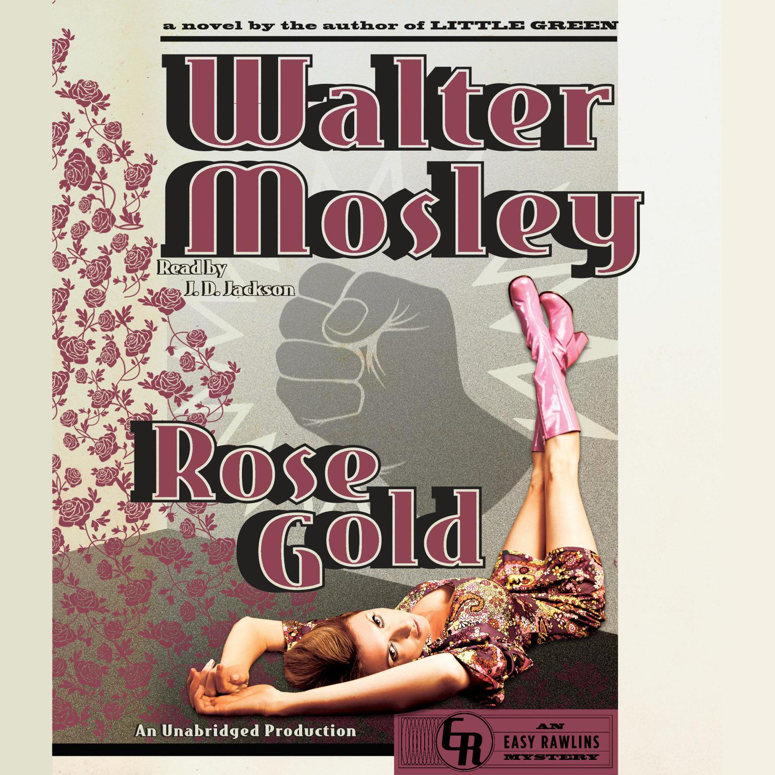 Printable Rose Gold: An Easy Rawlins Mystery Audiobook Cover Art