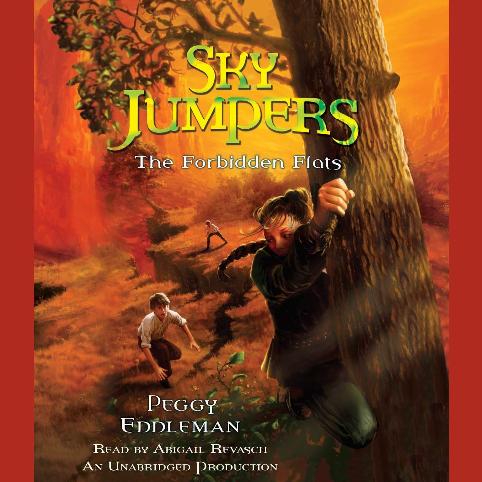 Printable Sky Jumpers Book 2: The Forbidden Flats Audiobook Cover Art