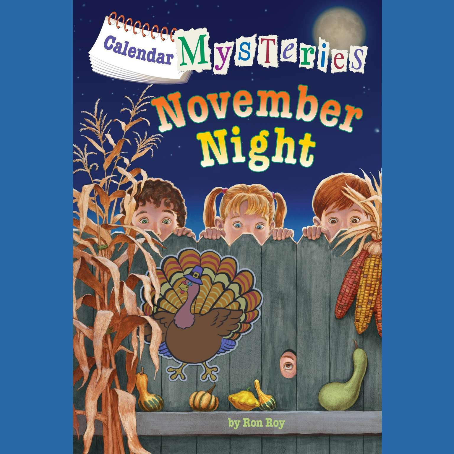 Printable Calendar Mysteries #11: November Night Audiobook Cover Art
