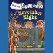 Calendar Mysteries #11: November Night Audiobook, by Ron Roy, Ronald Roy
