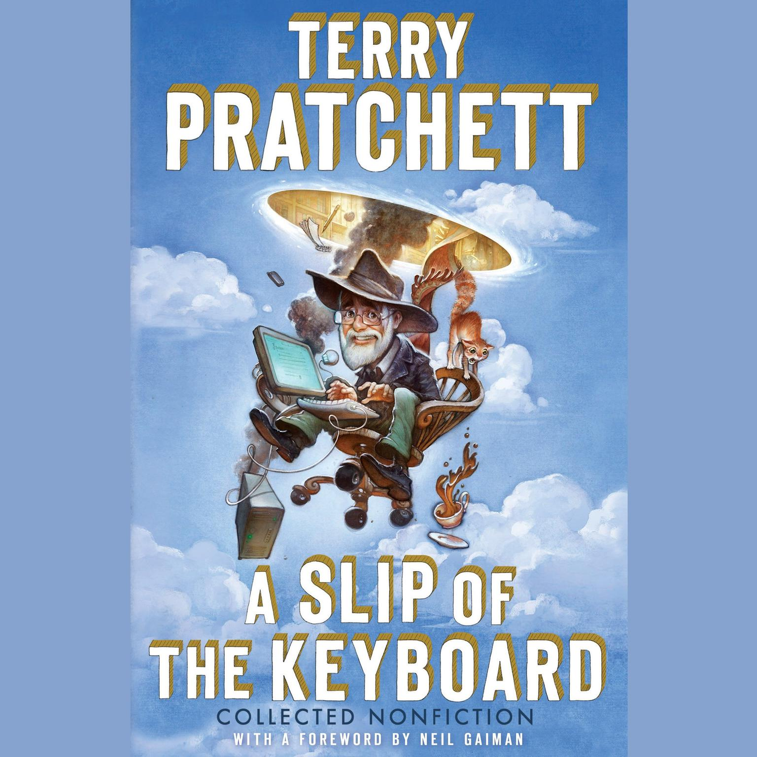 Printable A Slip of the Keyboard: Collected Nonfiction Audiobook Cover Art