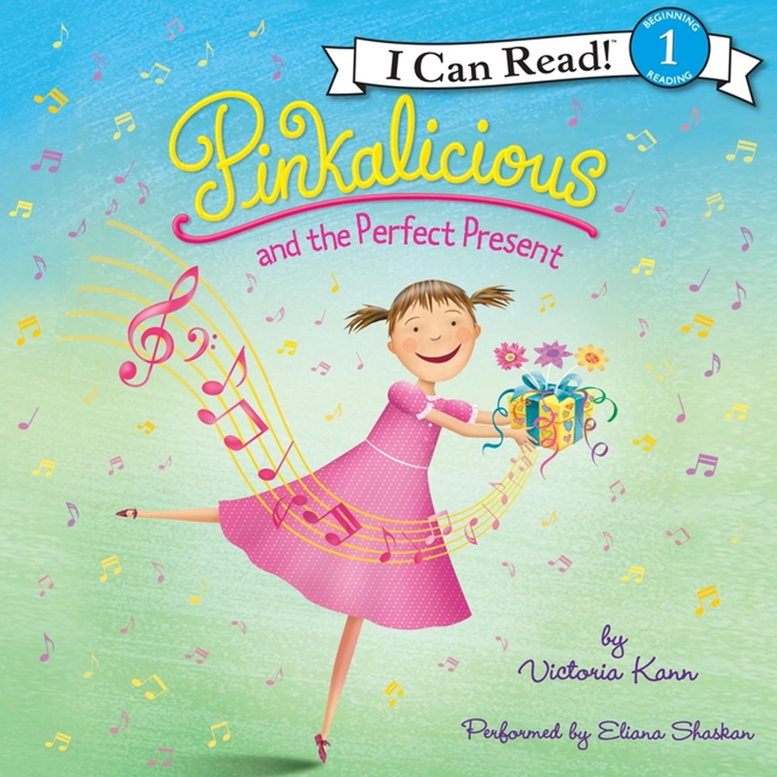 Printable Pinkalicious and the Perfect Present Audiobook Cover Art