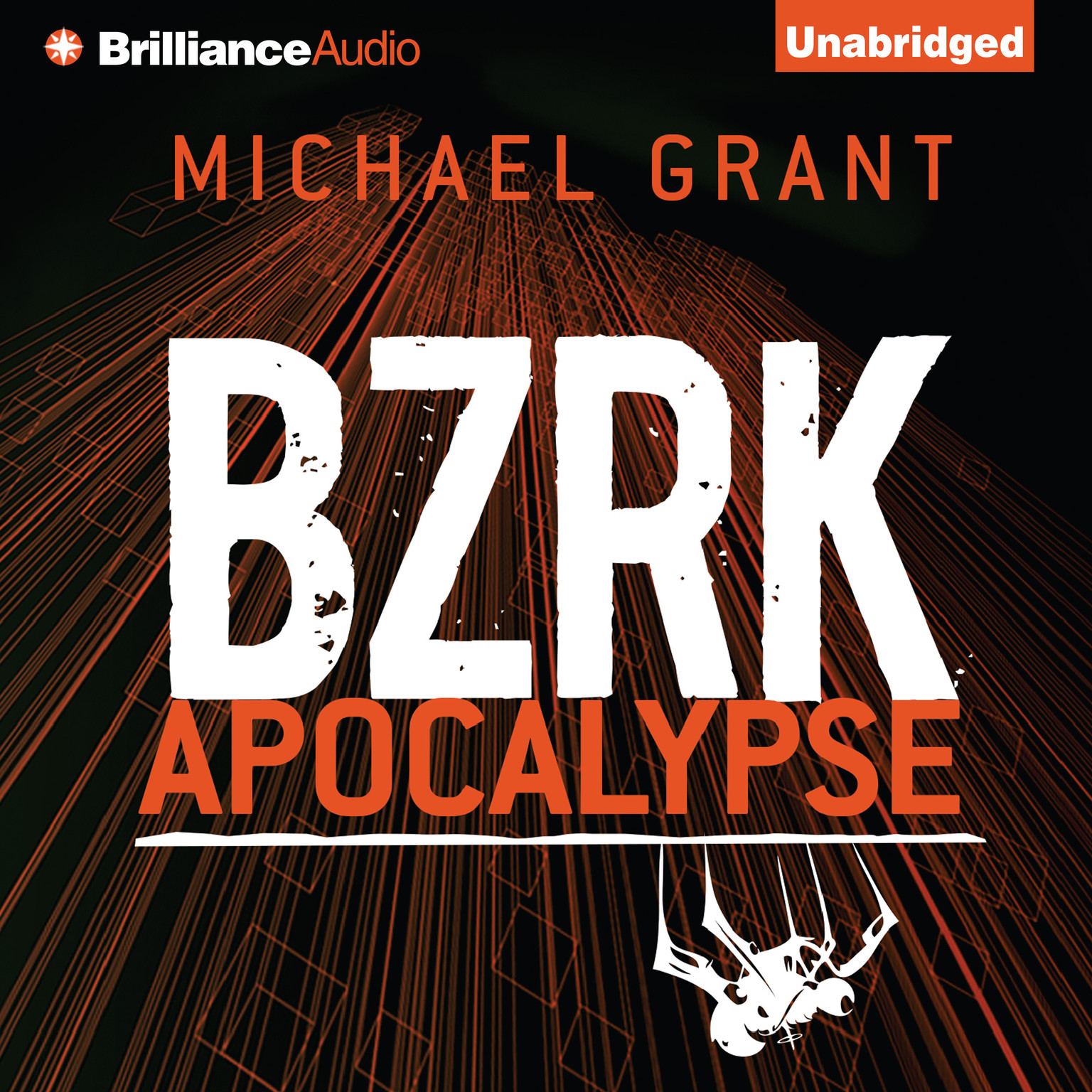 Printable BZRK Apocalypse Audiobook Cover Art