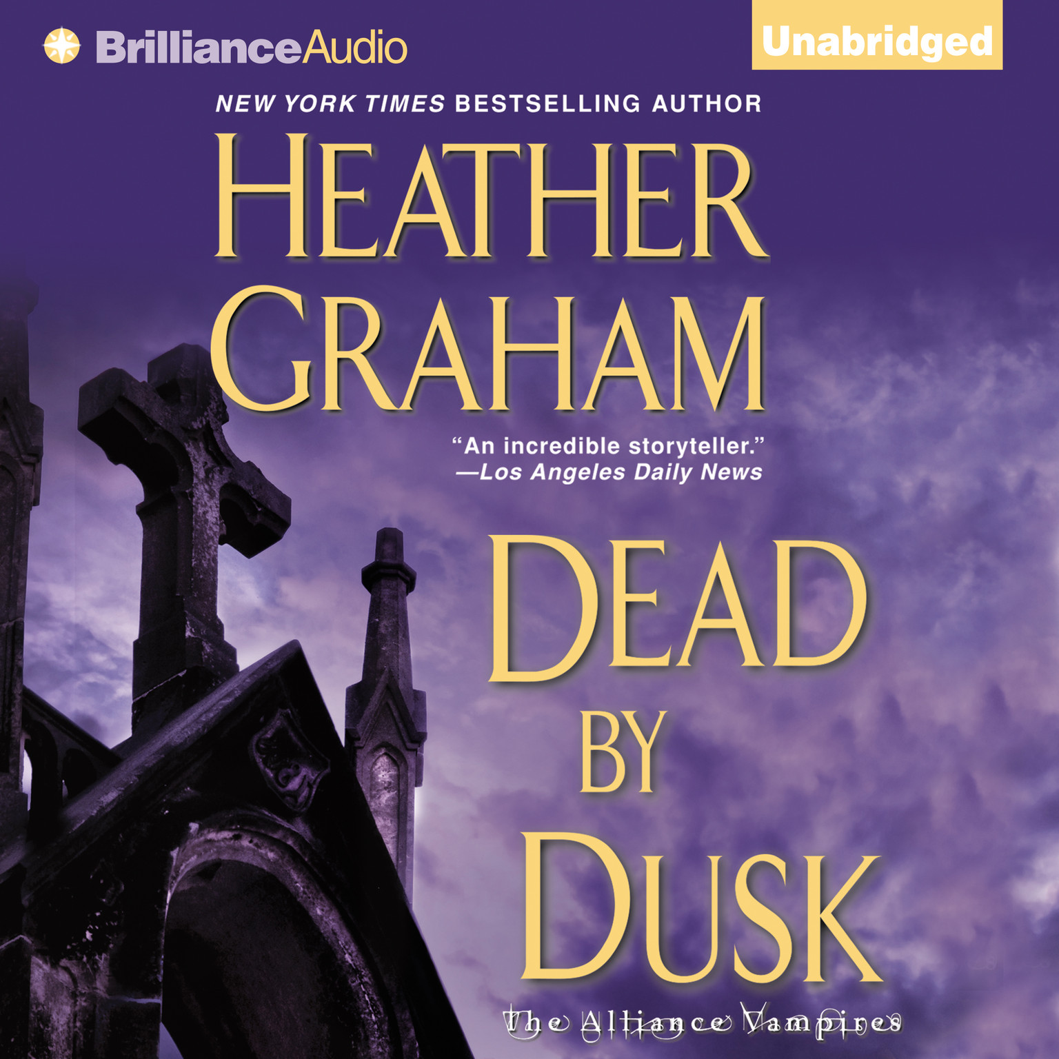 Printable Dead by Dusk Audiobook Cover Art