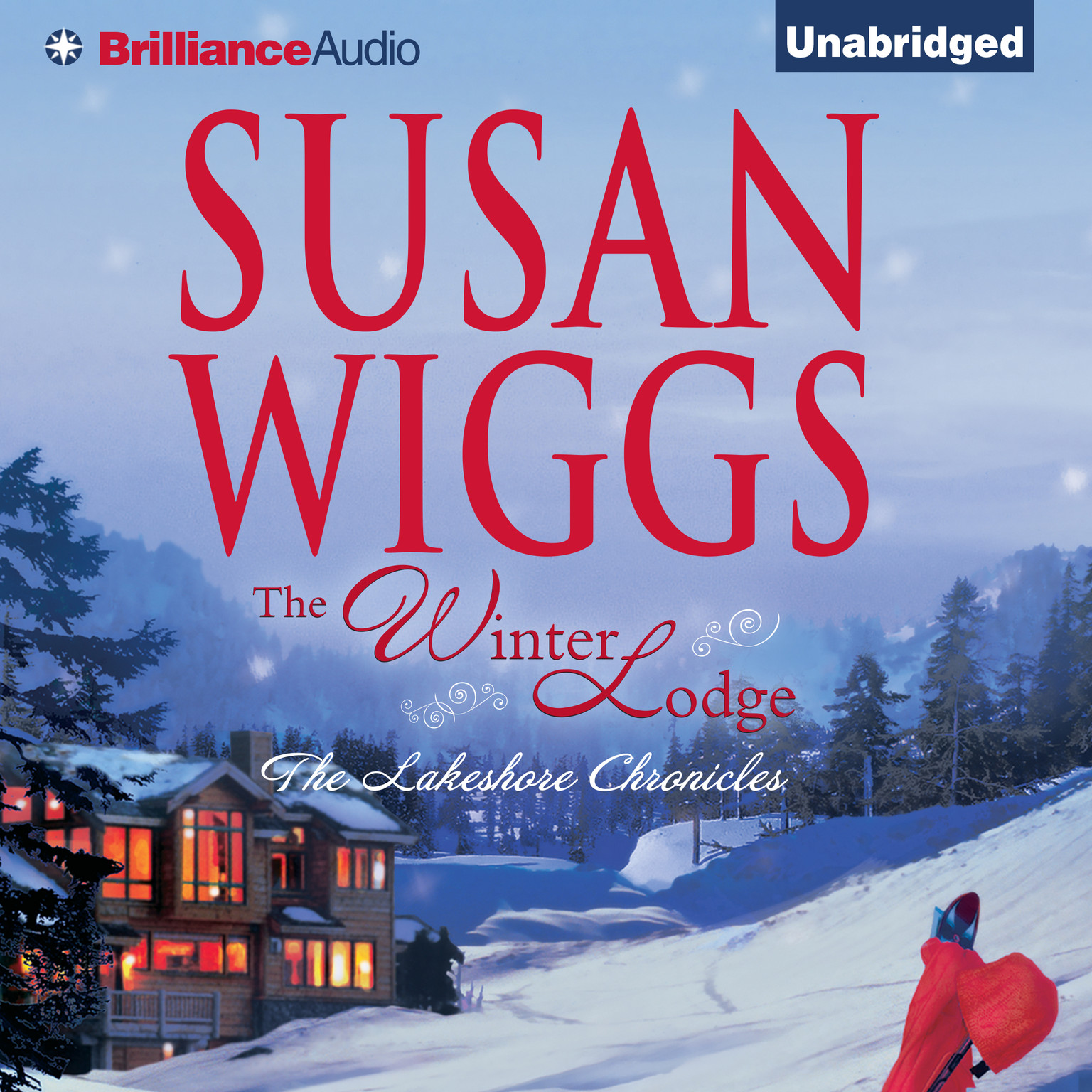 Printable The Winter Lodge Audiobook Cover Art