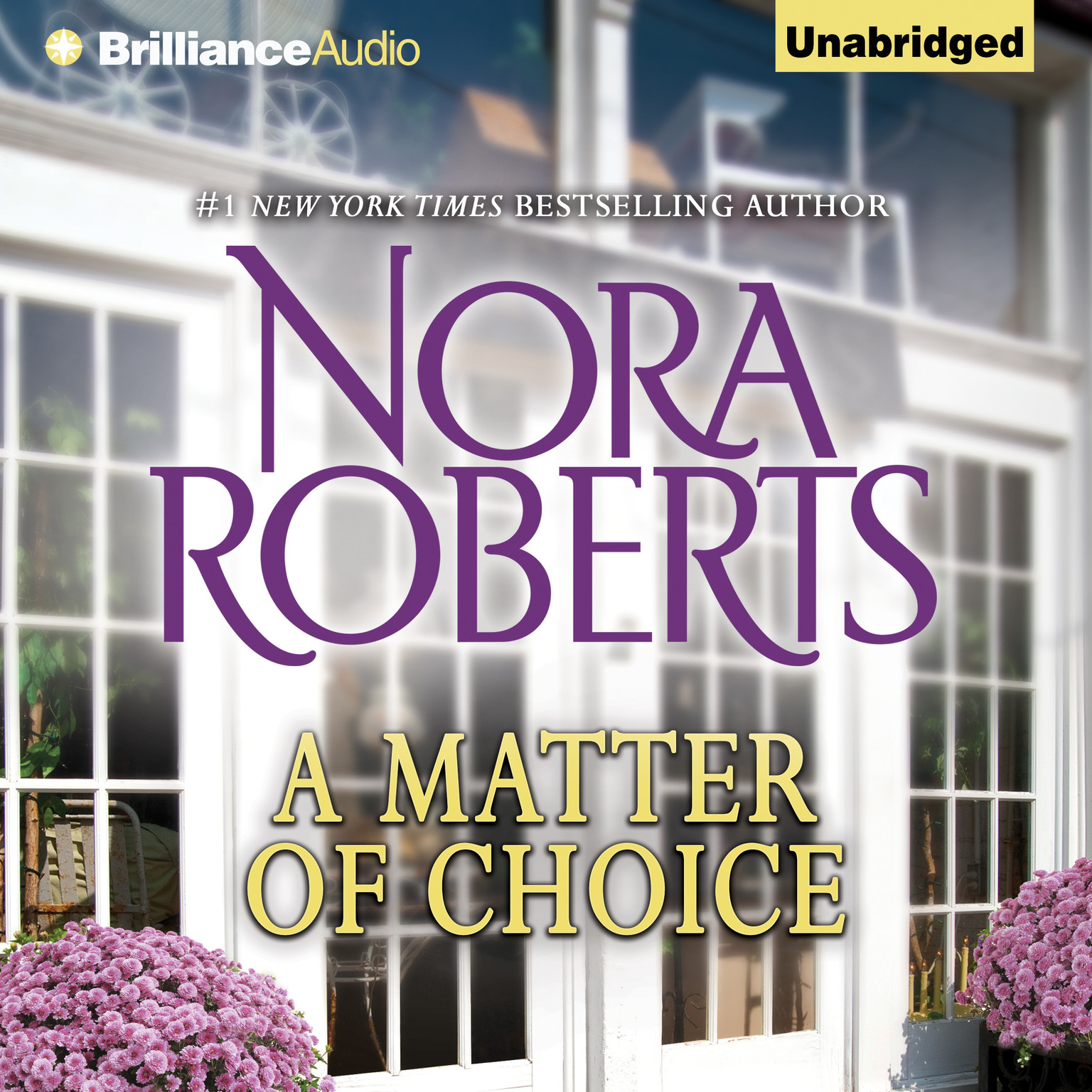 Printable A Matter of Choice Audiobook Cover Art