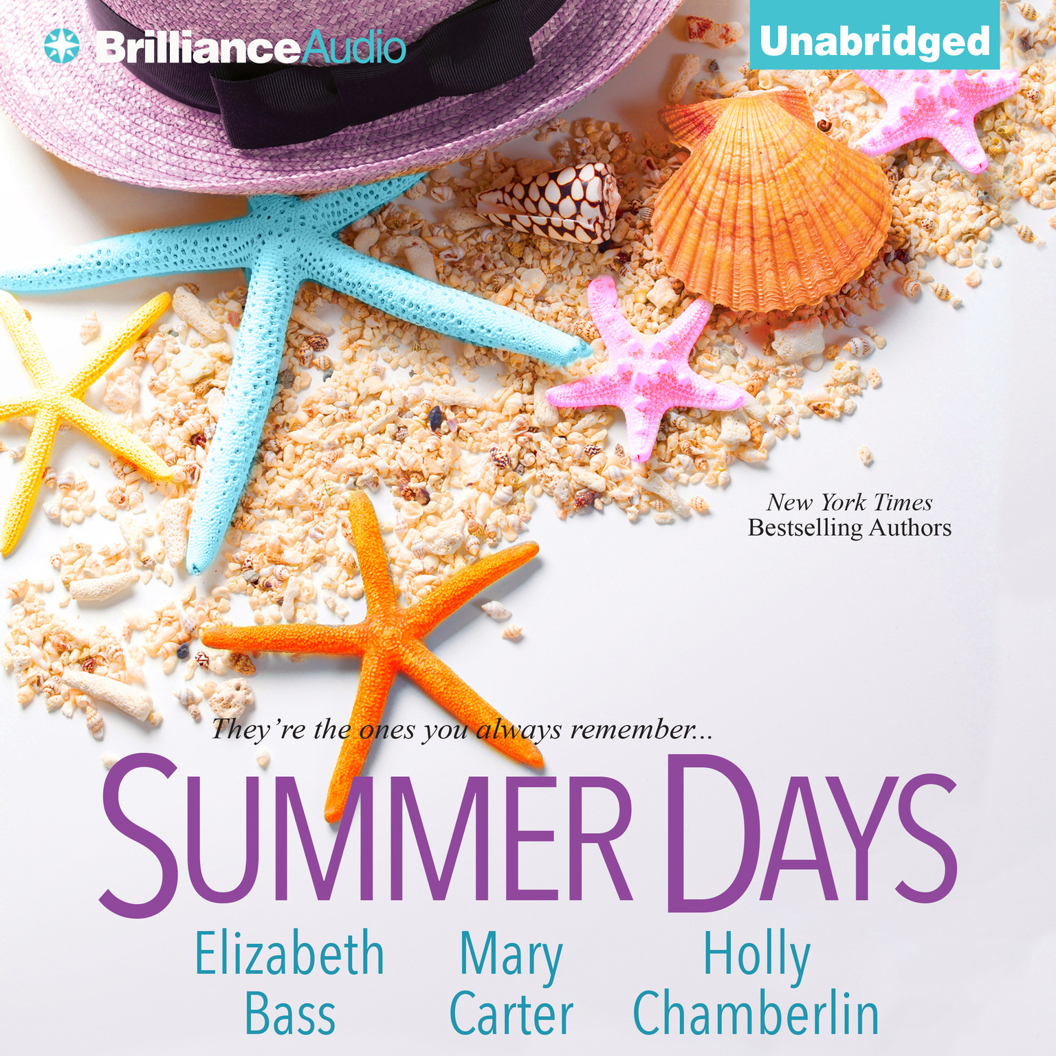 Printable Summer Days Audiobook Cover Art