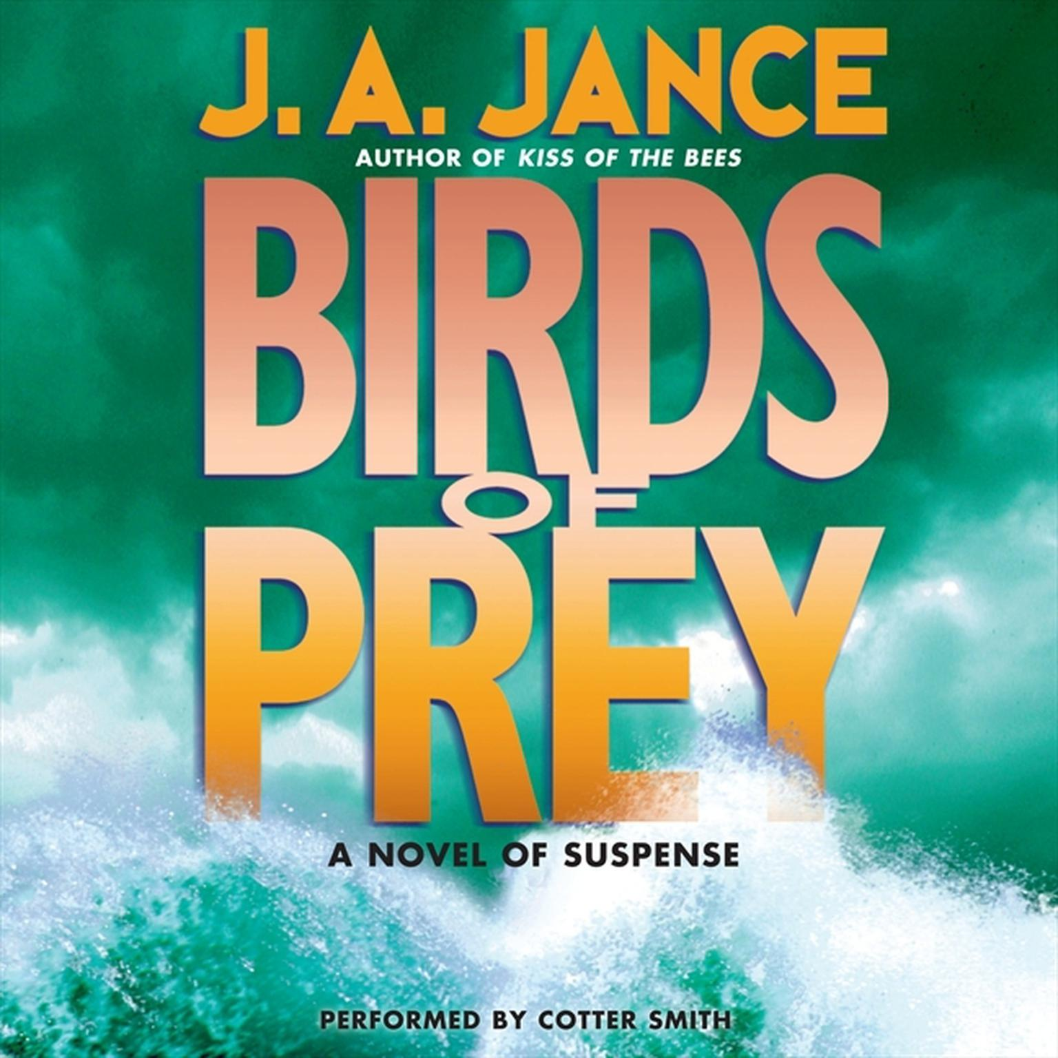 Printable Birds of Prey Low Price Audiobook Cover Art