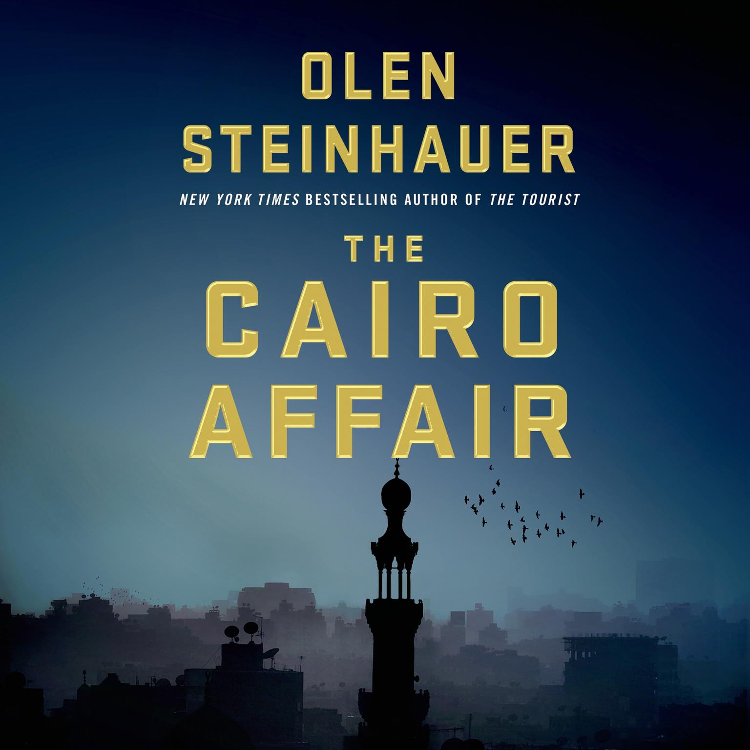 Printable The Cairo Affair: A Novel Audiobook Cover Art