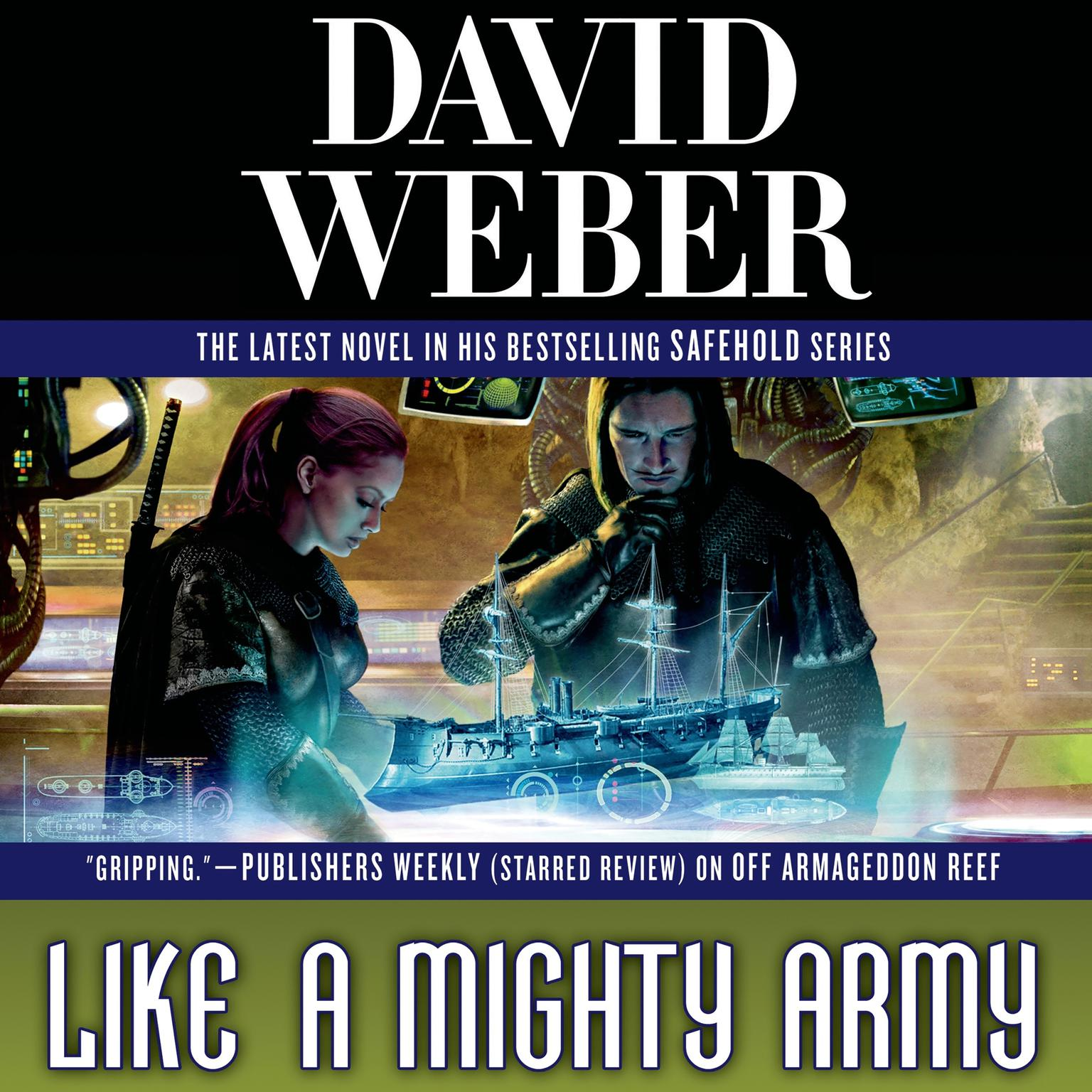 Printable Like a Mighty Army Audiobook Cover Art