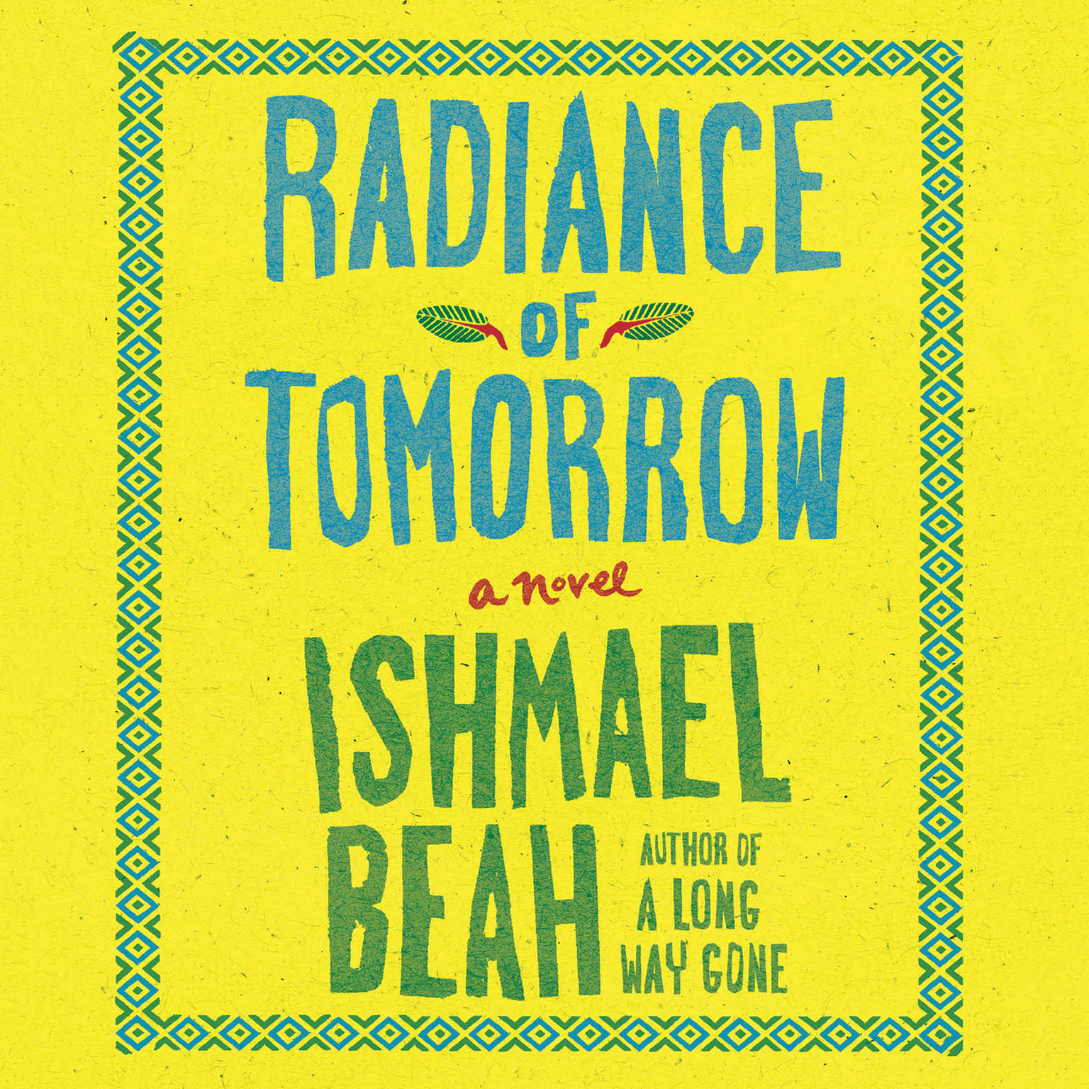 Printable Radiance of Tomorrow: A Novel Audiobook Cover Art