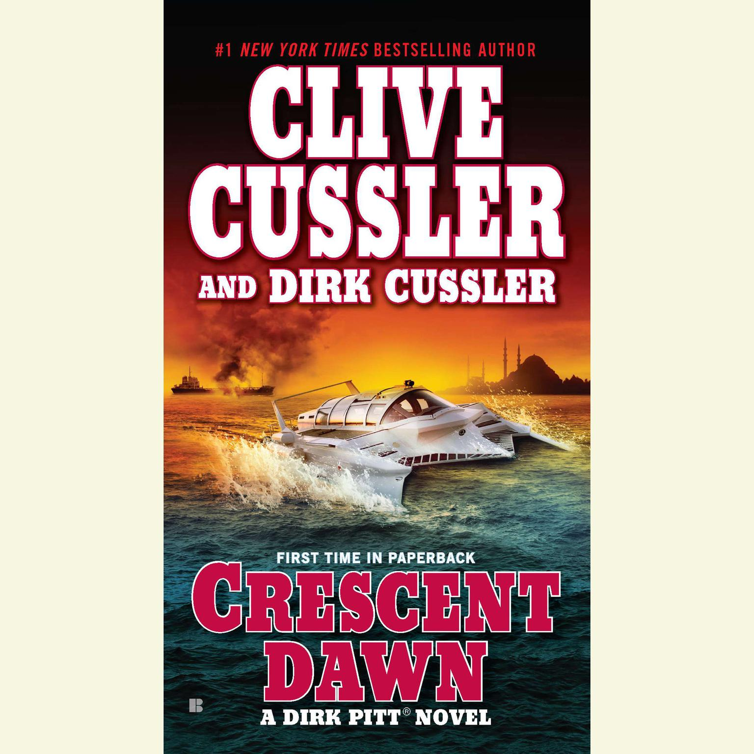 Printable Crescent Dawn Audiobook Cover Art