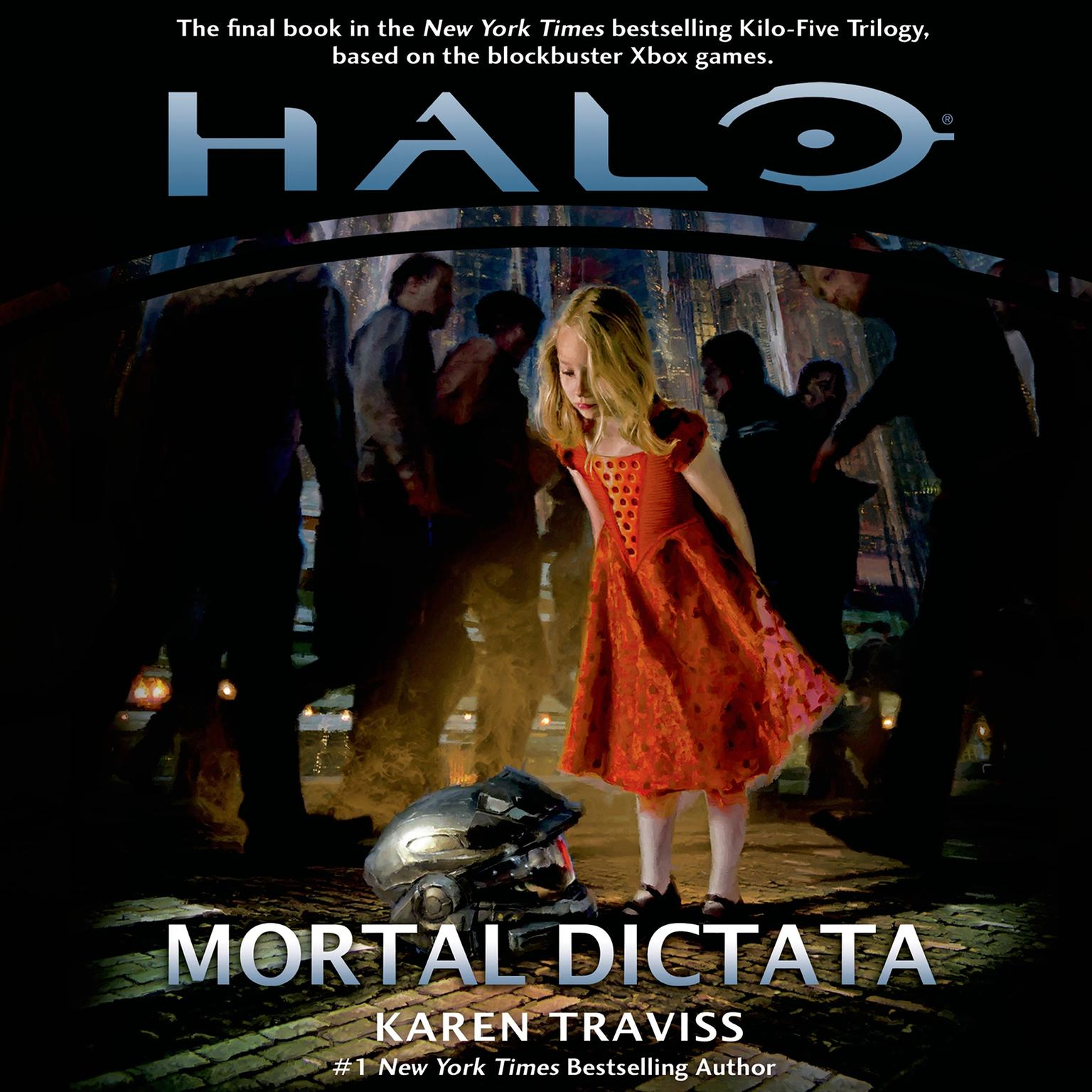 Printable Halo: Mortal Dictata Audiobook Cover Art