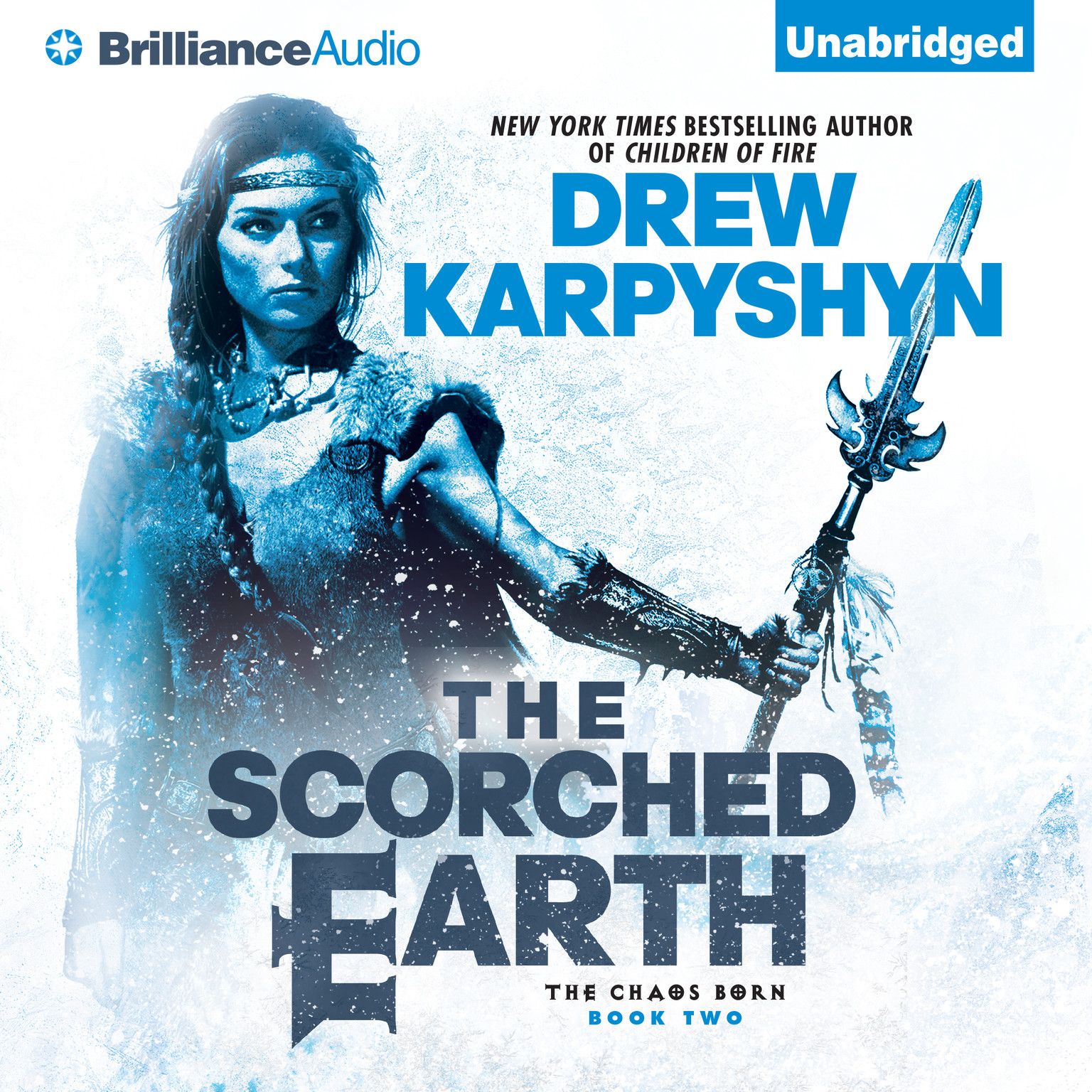 Printable The Scorched Earth Audiobook Cover Art