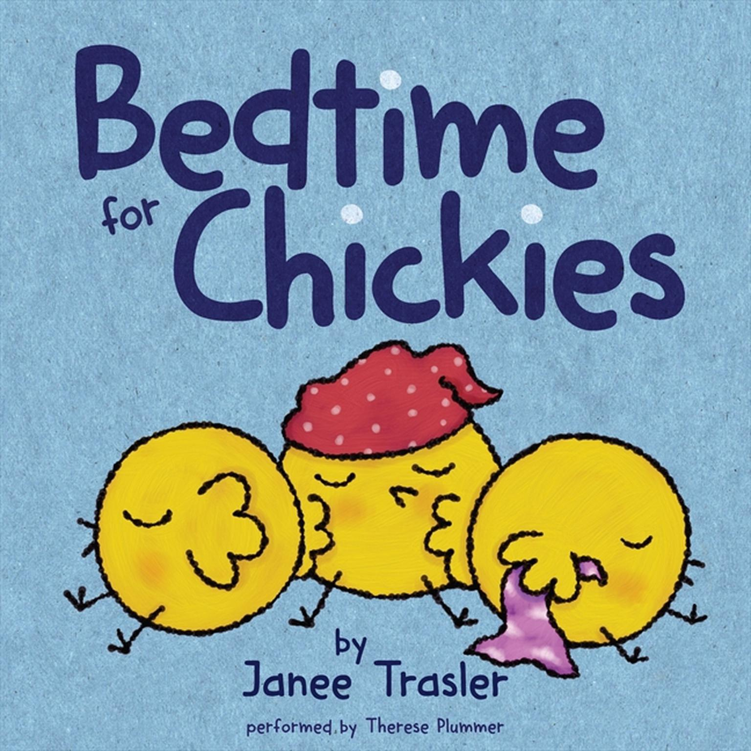 Printable Bedtime for Chickies Audiobook Cover Art