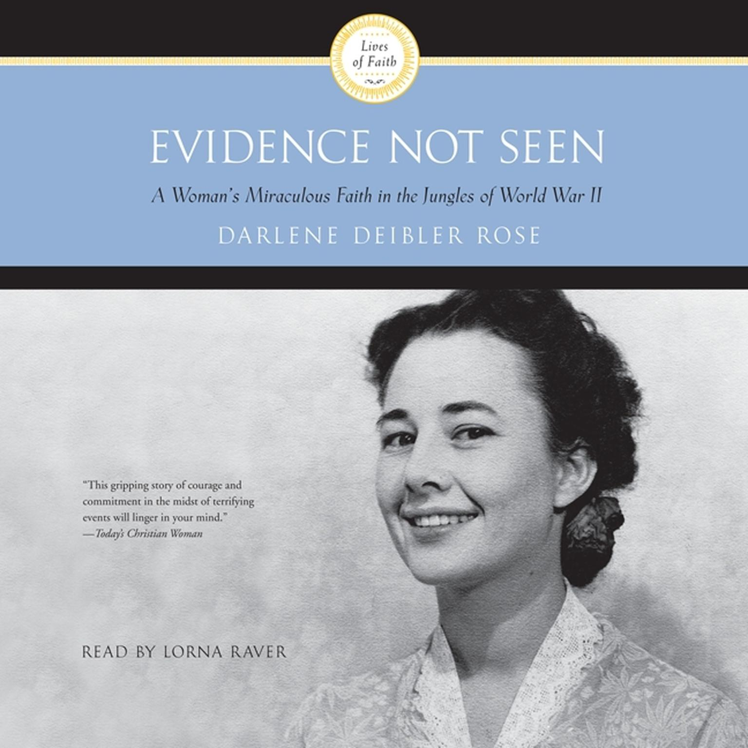 Printable Evidence Not Seen: A Woman's Miraculous Faith in the Jungles of World War II Audiobook Cover Art