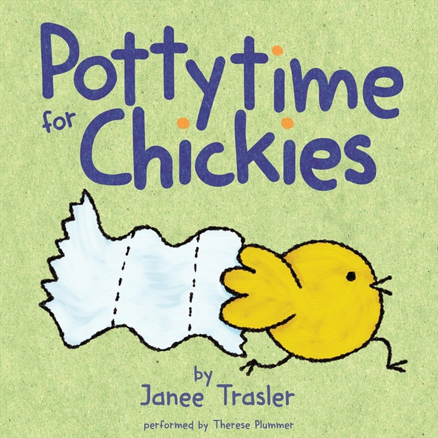 Printable Pottytime for Chickies Audiobook Cover Art