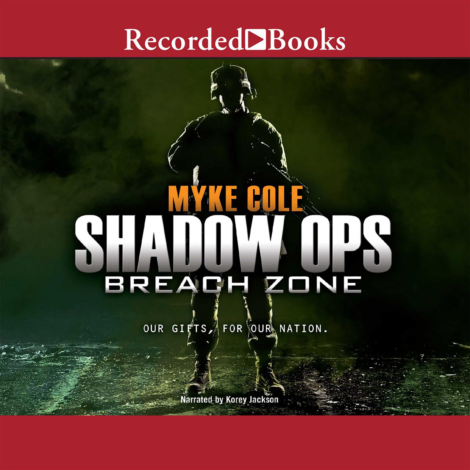 Printable Breach Zone Audiobook Cover Art