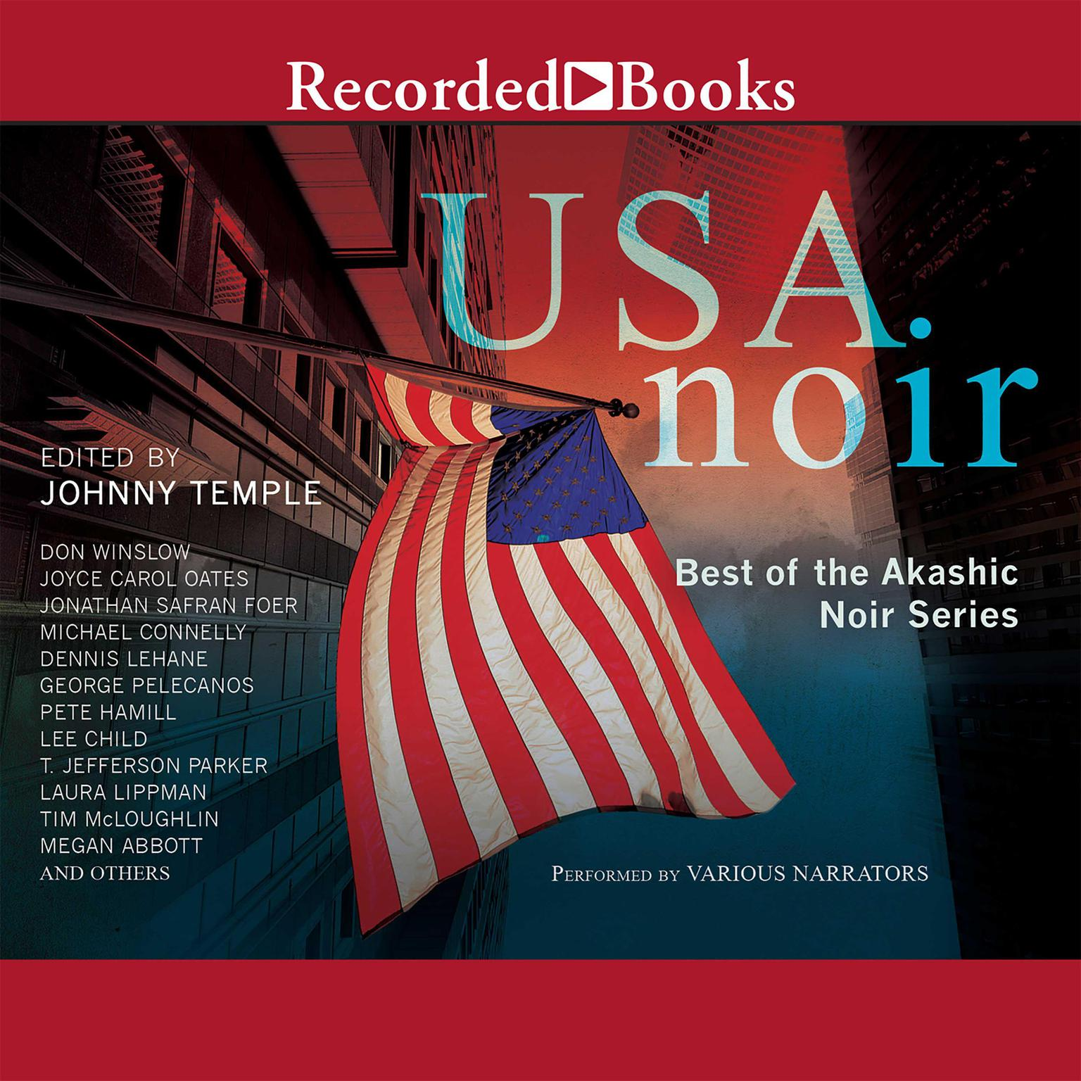Printable USA Noir: Best of the Akashic Noir Series Audiobook Cover Art