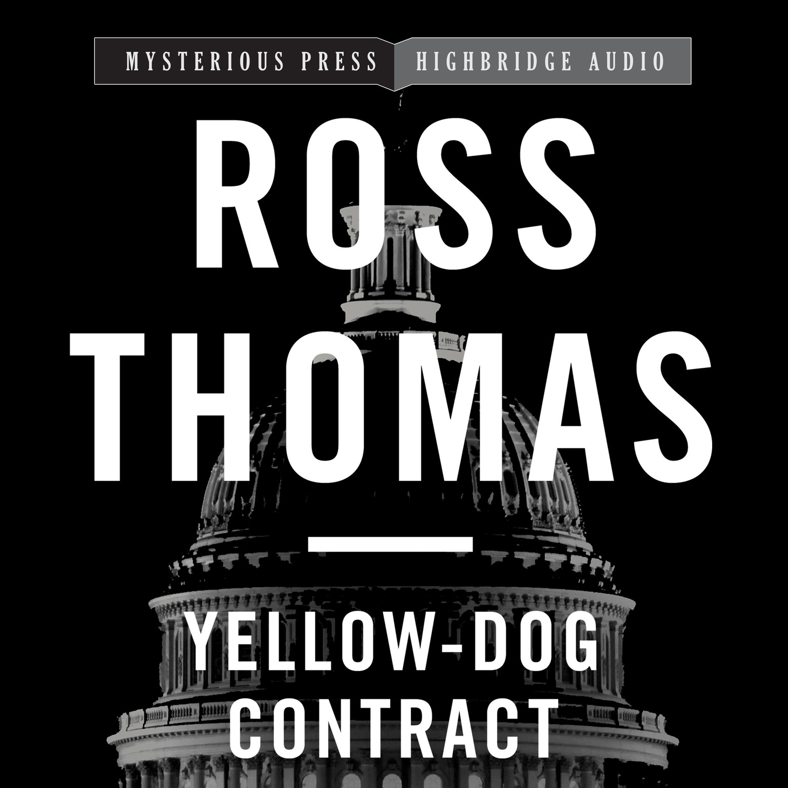 Printable Yellow-Dog Contract Audiobook Cover Art