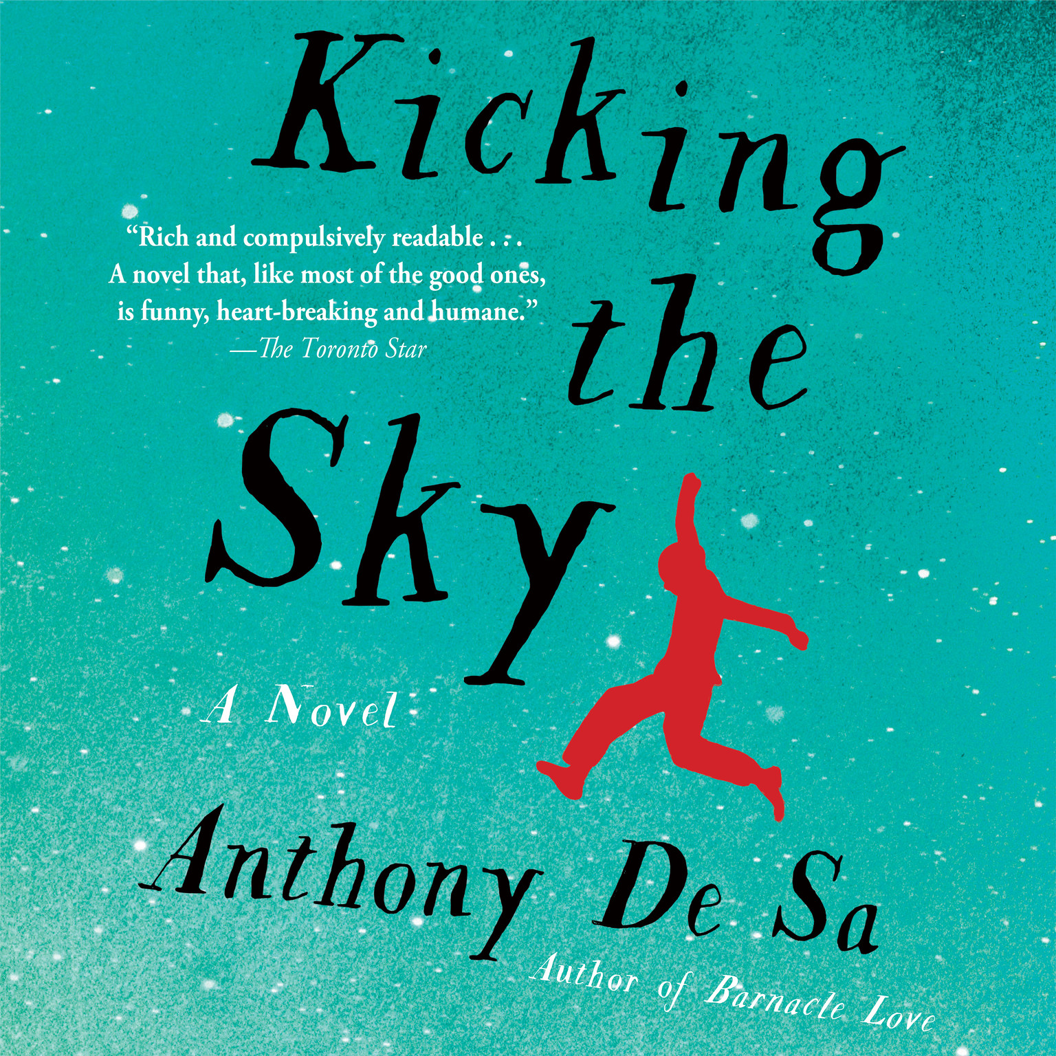 Printable Kicking the Sky Audiobook Cover Art