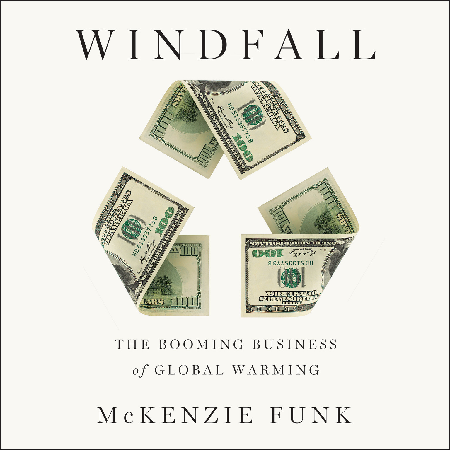 Printable Windfall: The Booming Business of Global Warming Audiobook Cover Art