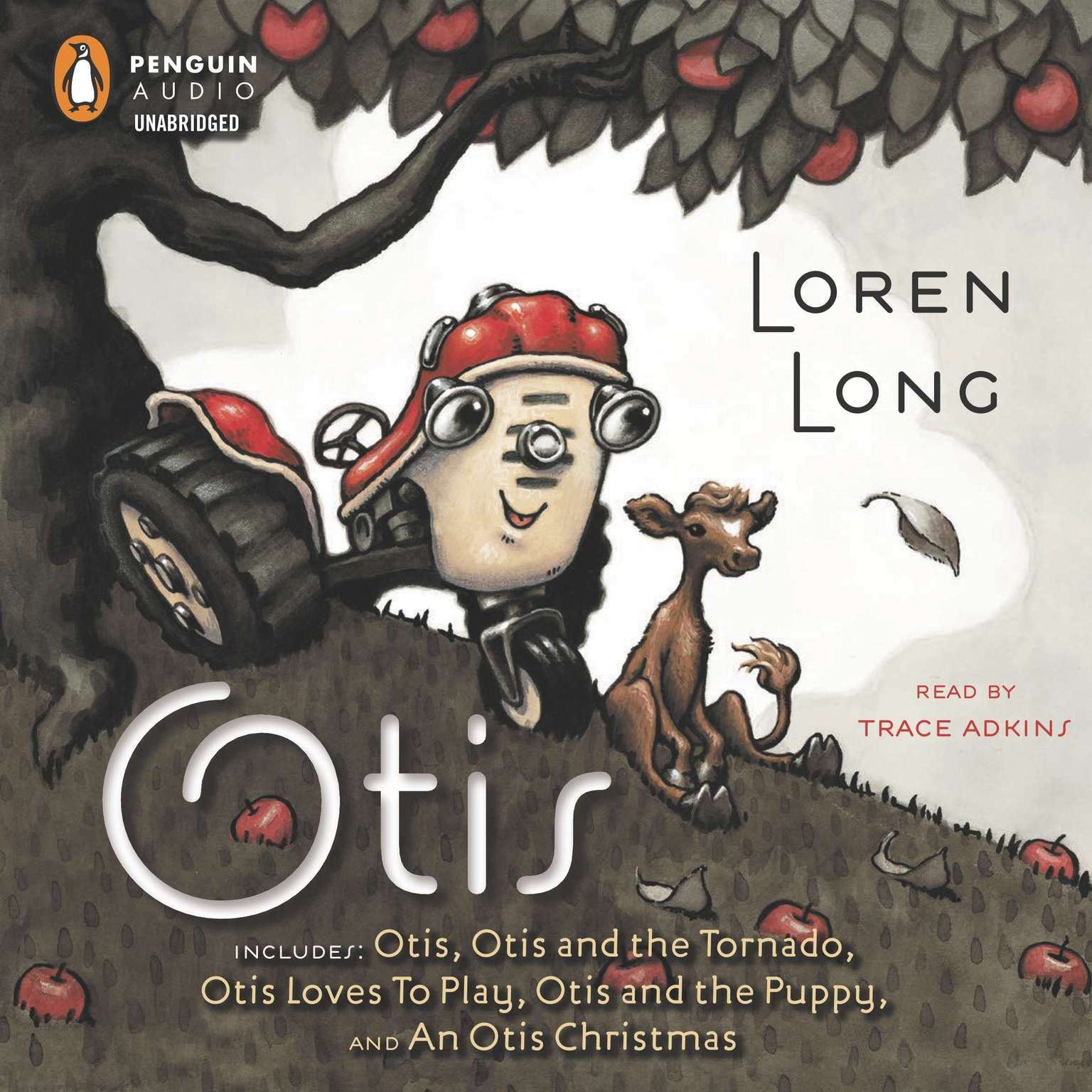 Printable The Otis Collection: Includes Otis, Otis and the Tornado, Otis Loves to Play, Otis and the Puppy, and An Otis Christmas Audiobook Cover Art
