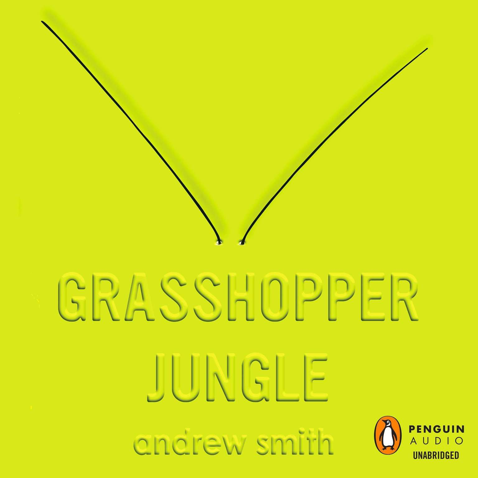 Printable Grasshopper Jungle Audiobook Cover Art