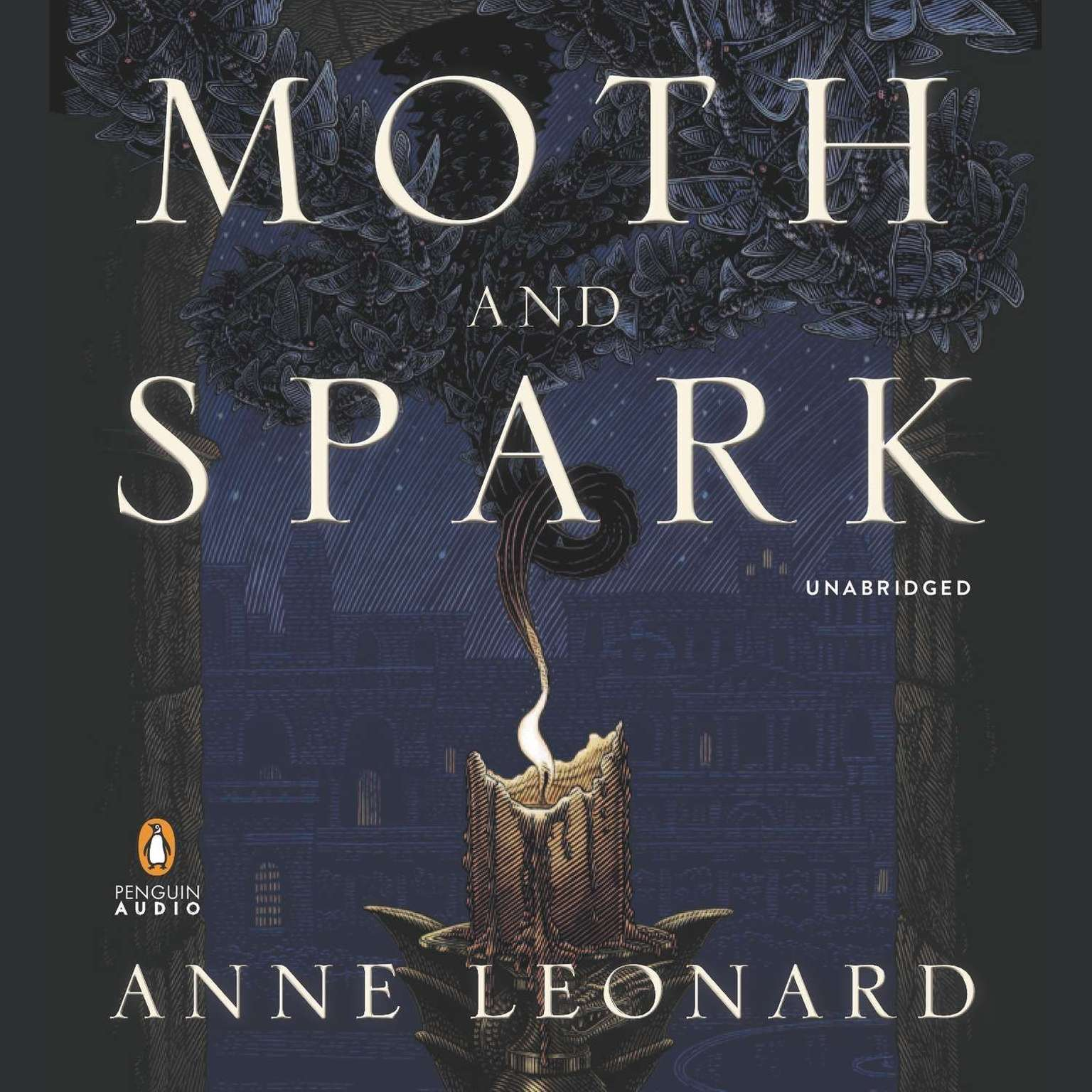 Printable Moth and Spark: A Novel Audiobook Cover Art