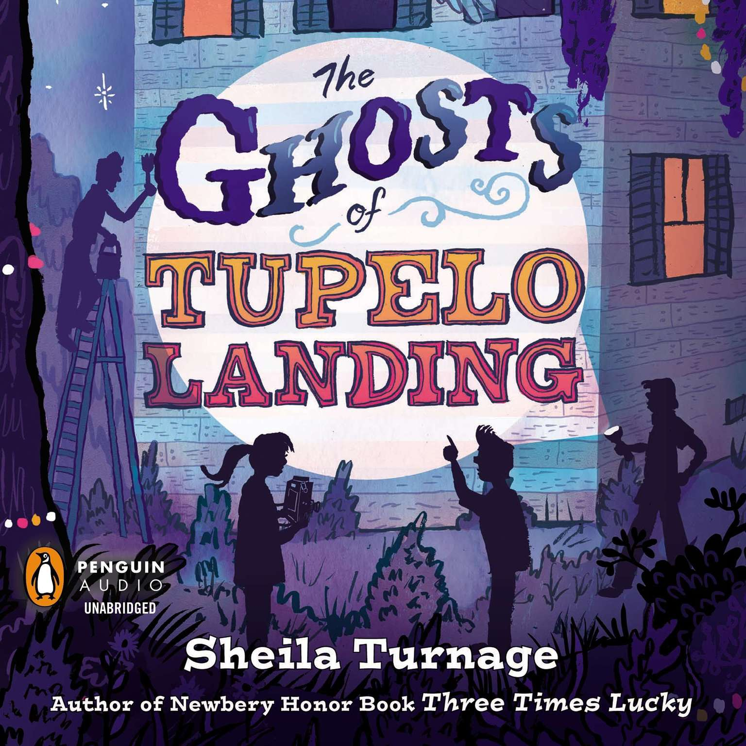 Printable The Ghosts of Tupelo Landing Audiobook Cover Art