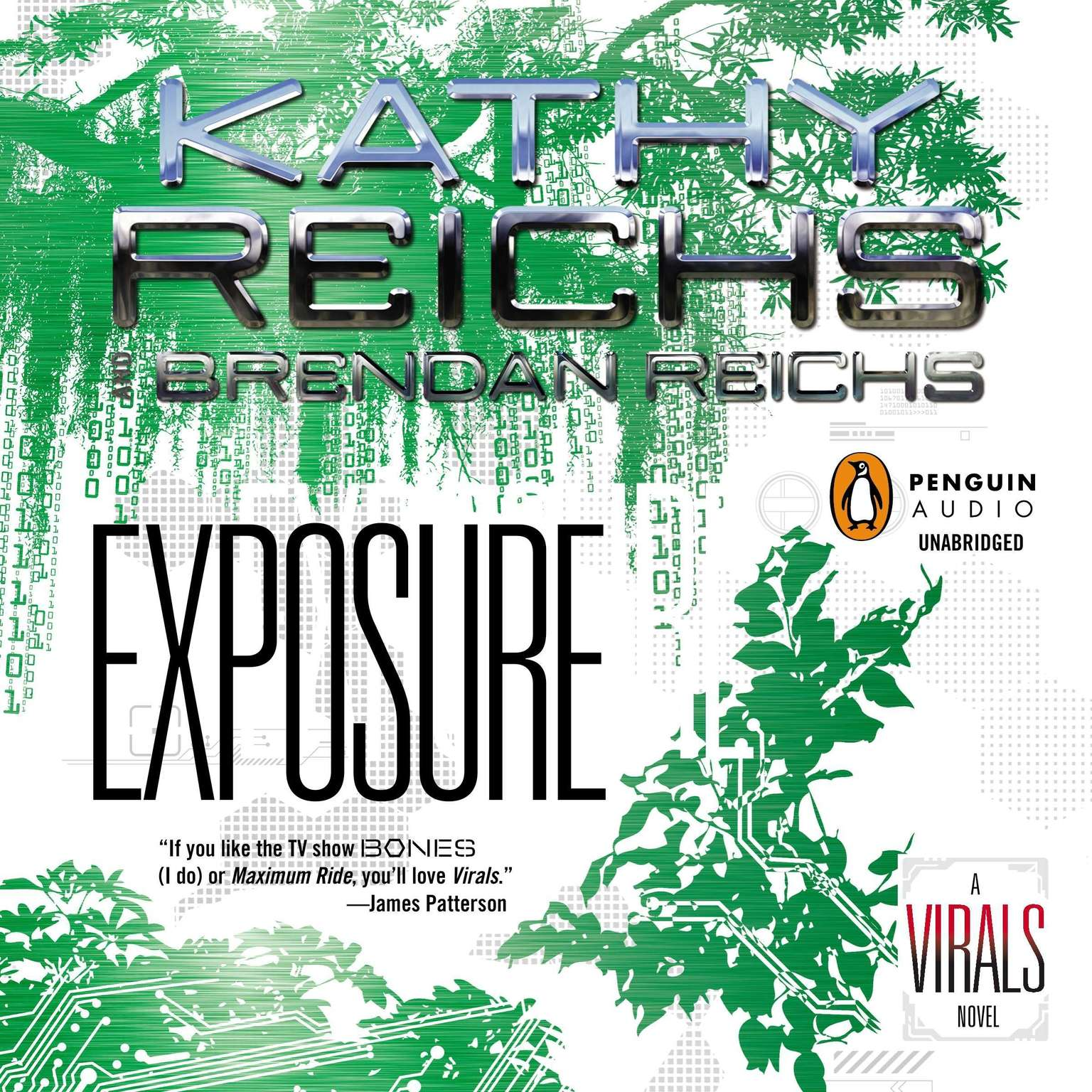 Printable Exposure: A Virals Novel Audiobook Cover Art