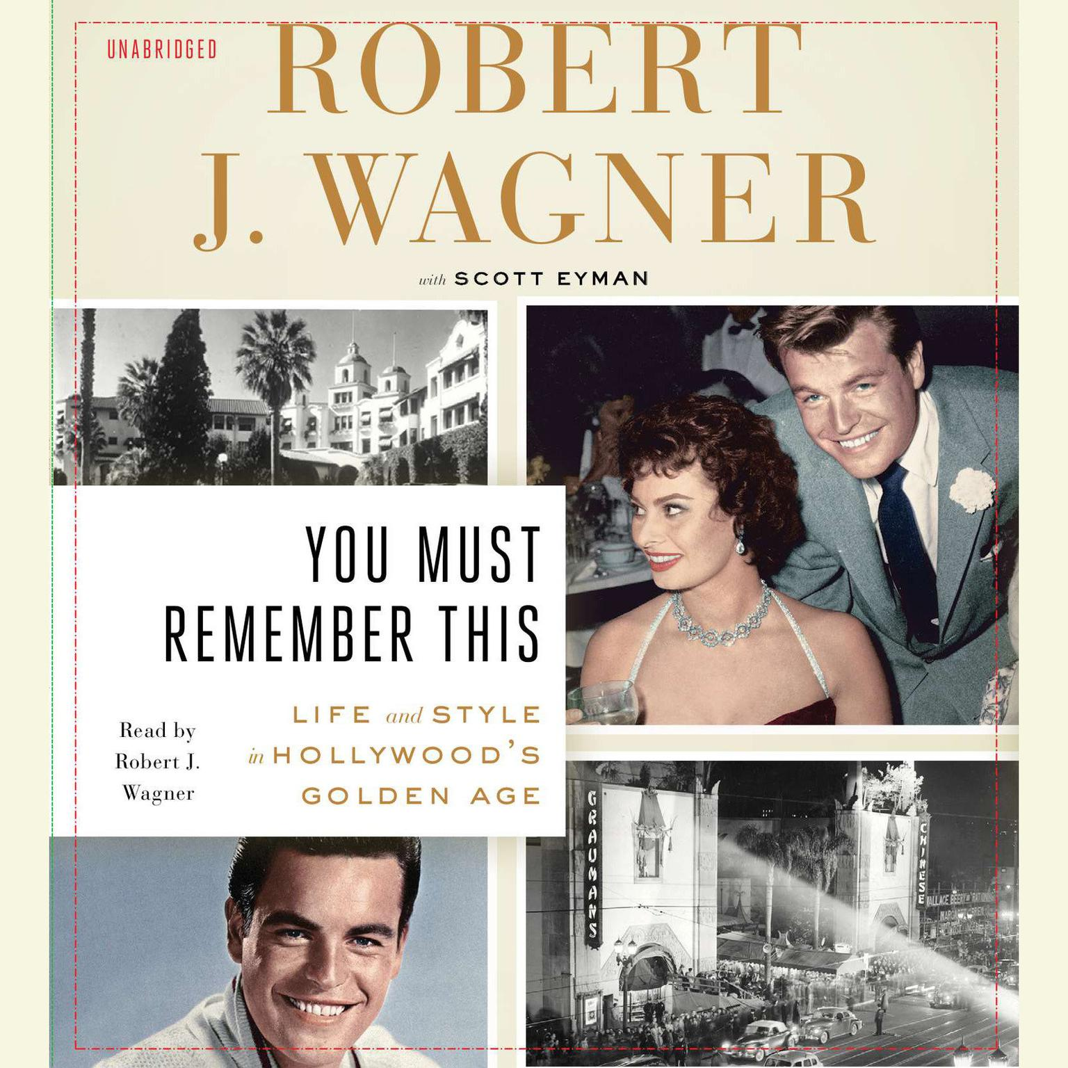 Printable You Must Remember This: Life and Style in Hollywood's Golden Age Audiobook Cover Art