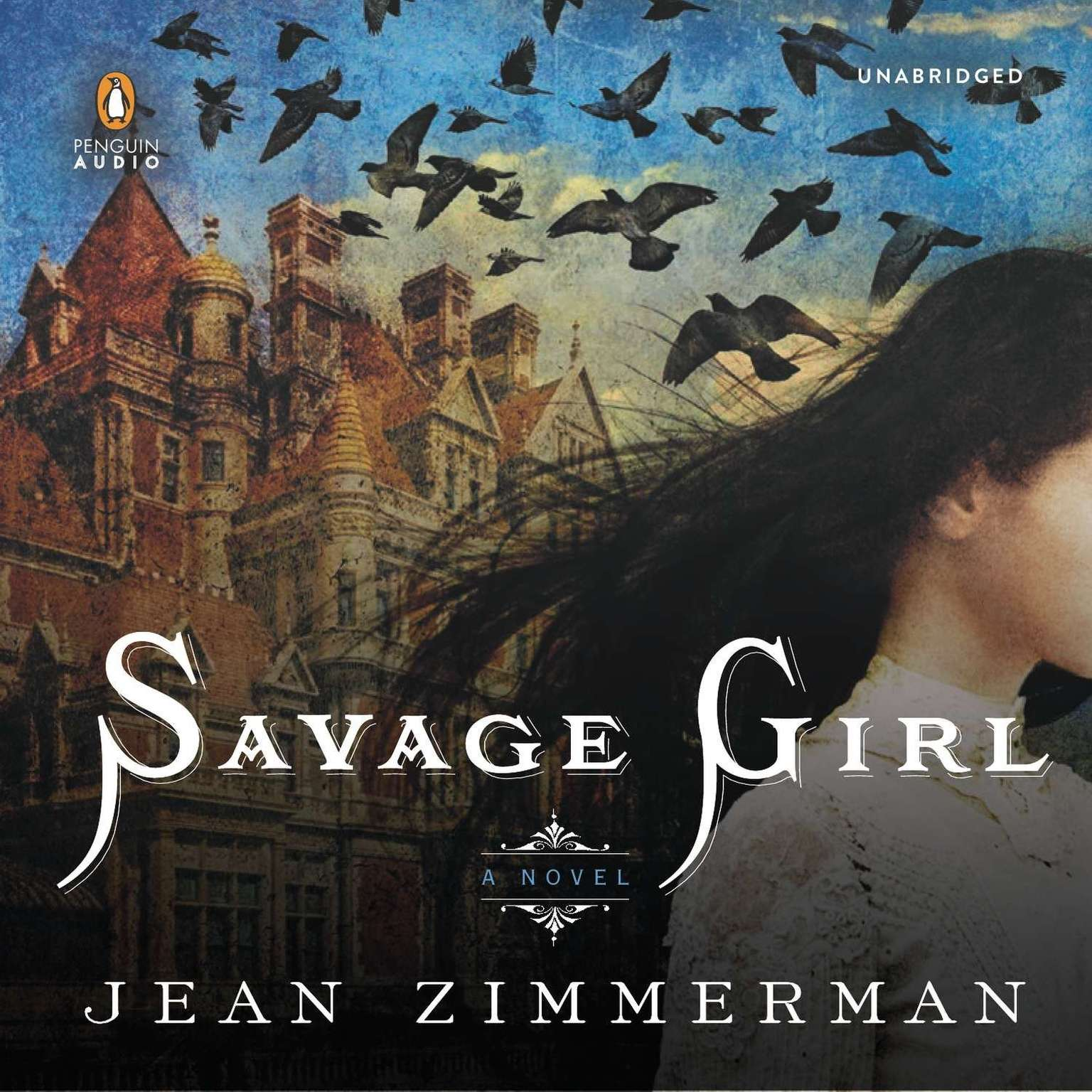 Printable Savage Girl Audiobook Cover Art